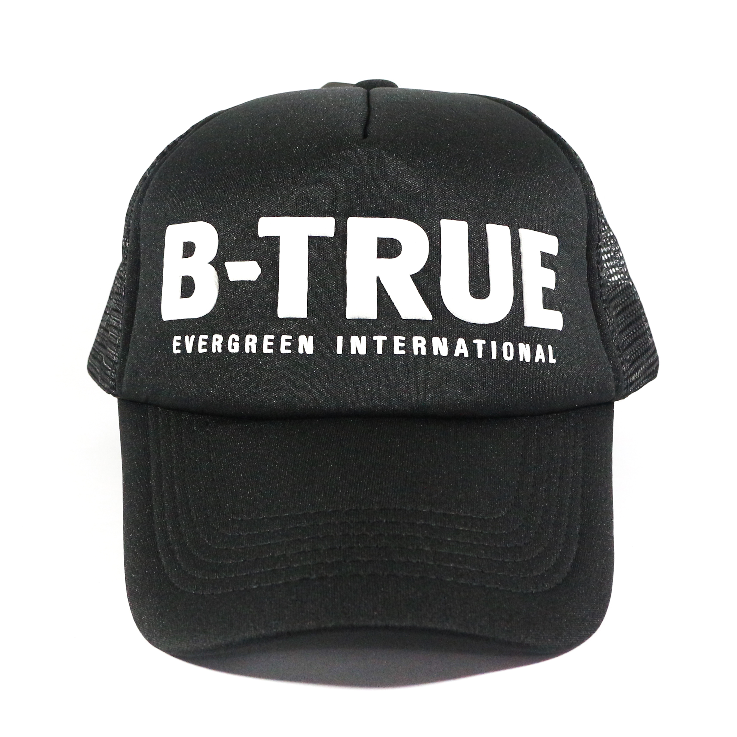 Evergreen Mesh Cap B-True Japan Free Size Black (6025)