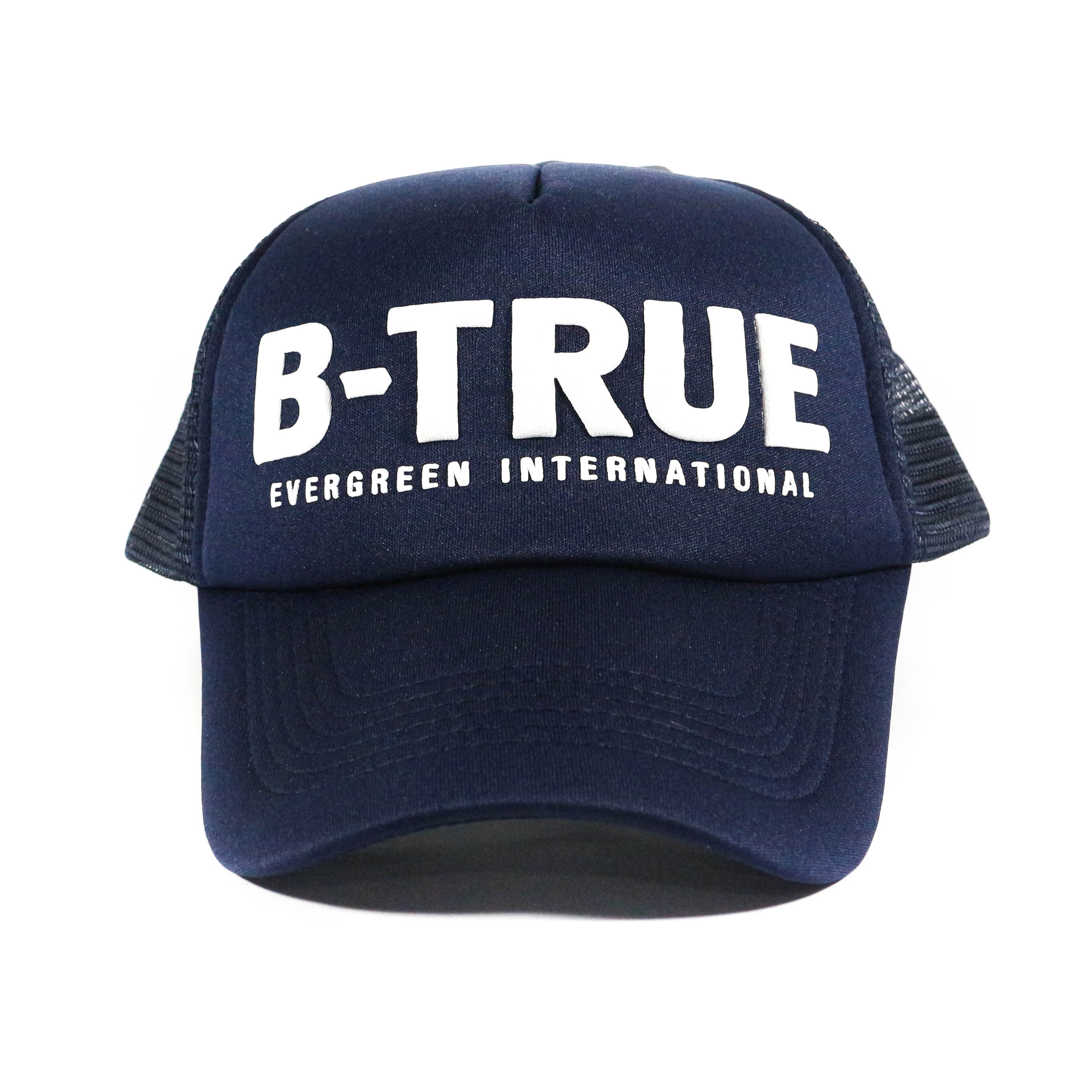 Evergreen Mesh Cap B-True Japan Free Size Navy (6049)
