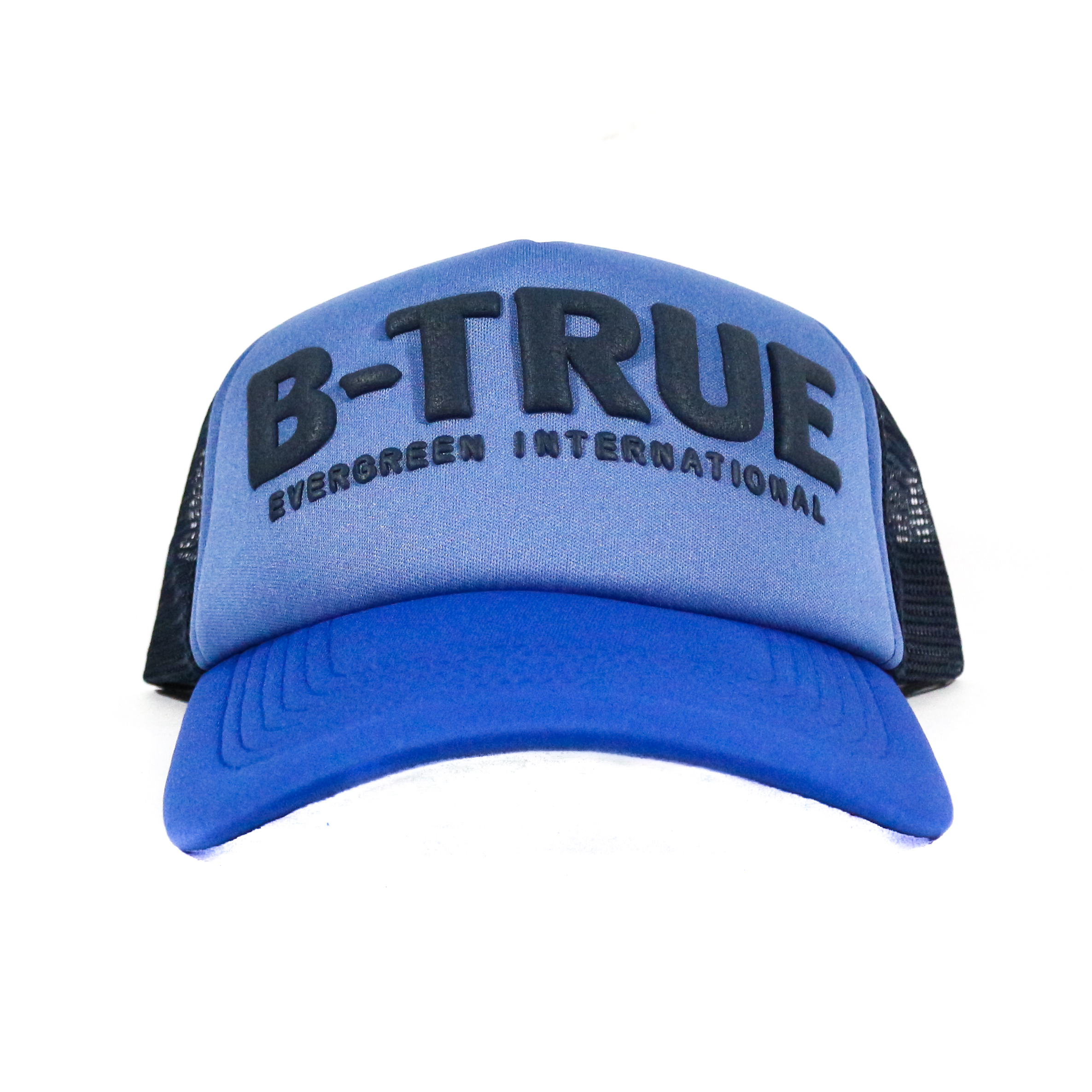 Evergreen Mesh Cap B-True Japan Free Size Blue Navy (6056)