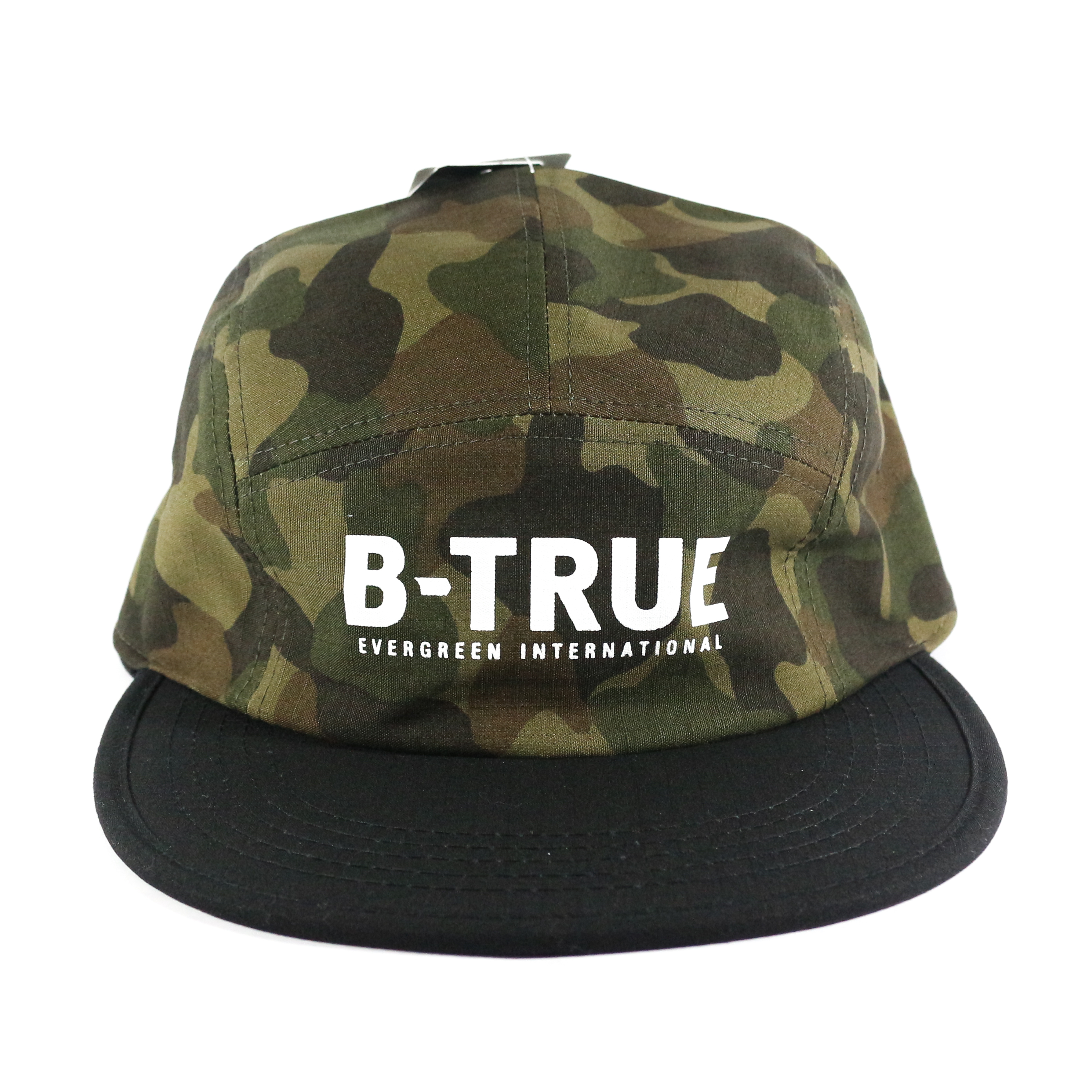 Evergreen Cap Jet Cap B-True Japan Free Size Green Camou (8845)