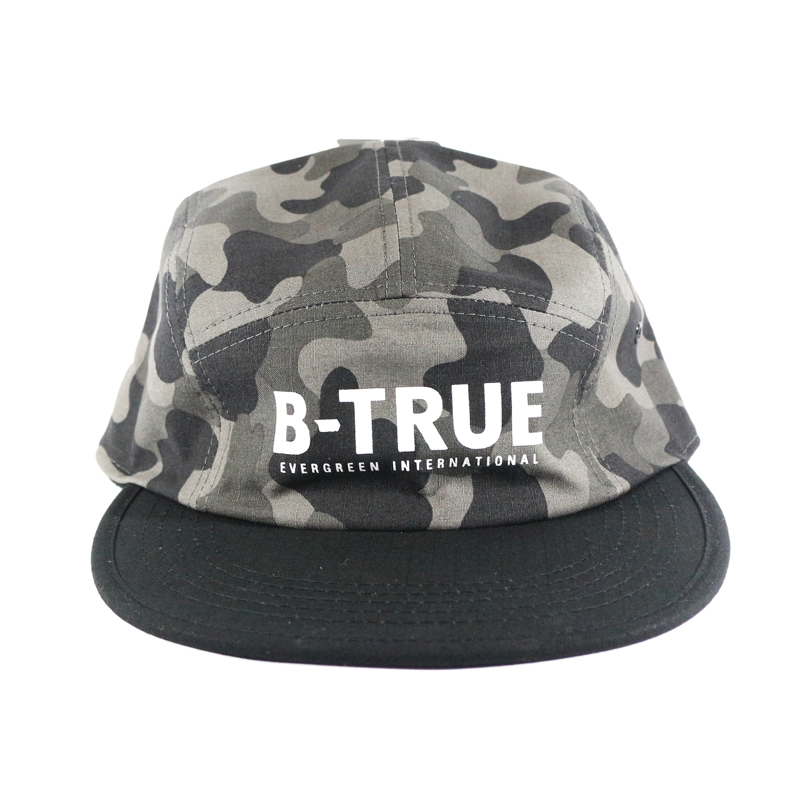 Evergreen Cap Jet Cap B-True Japan Free Size Black Camou (8852)