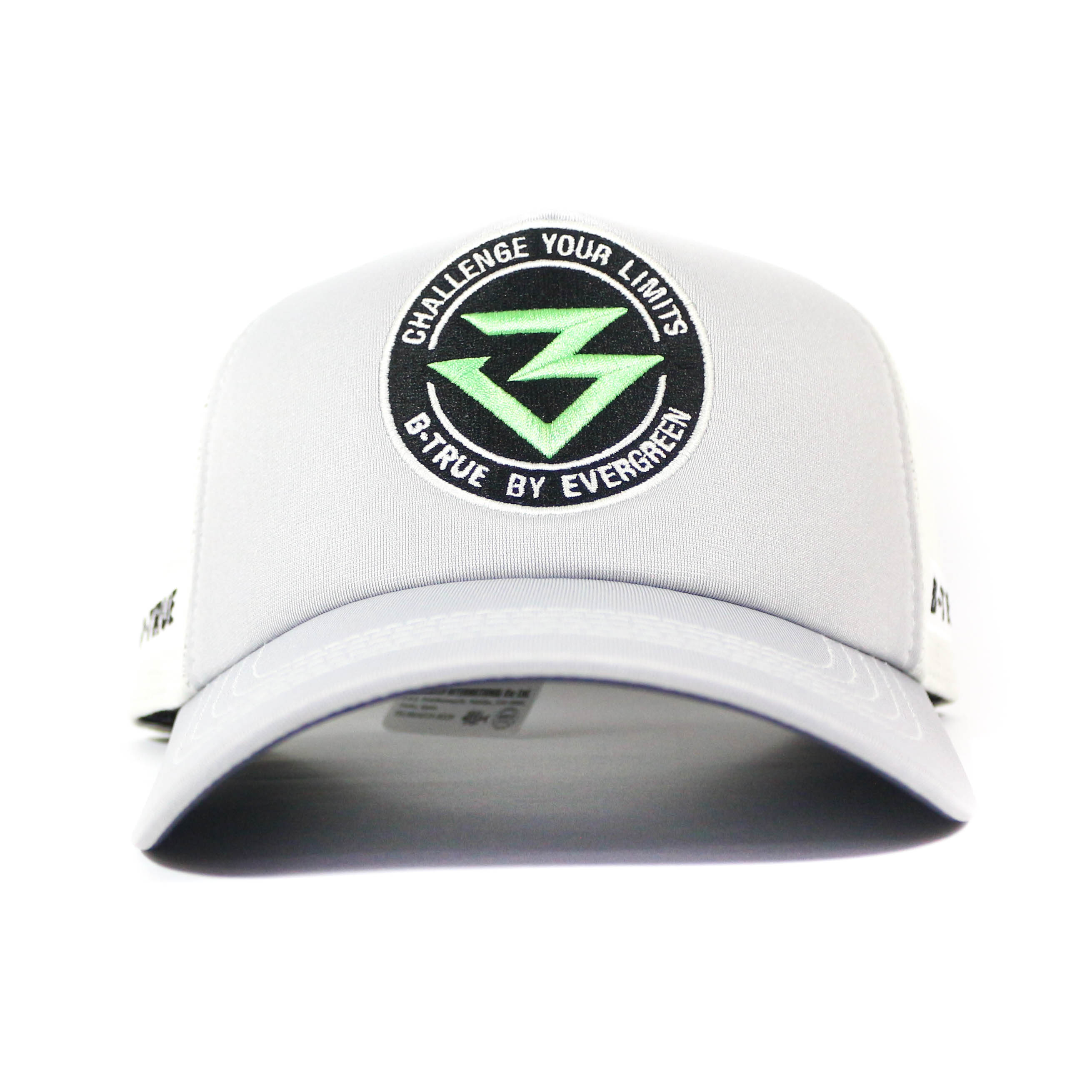 Evergreen Cap B-True Circle Logo Japan Free Size Gray (9414)