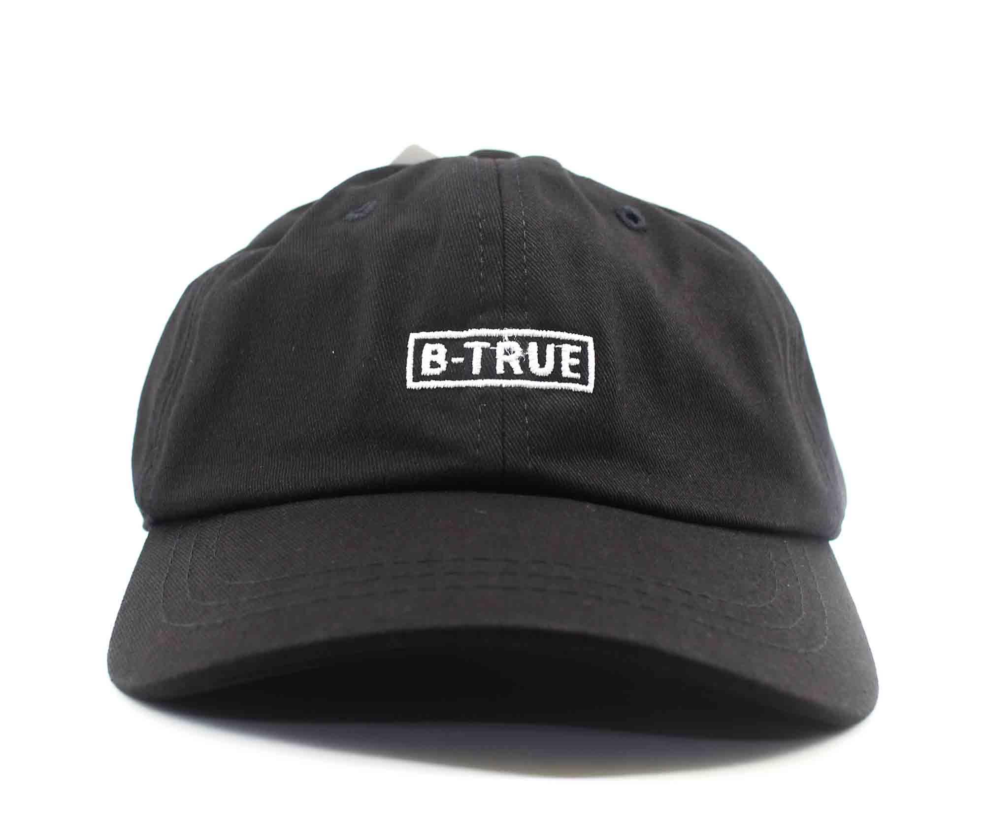 Evergreen Cap B-True Box Logo Low Japan Free Size Black (5279)