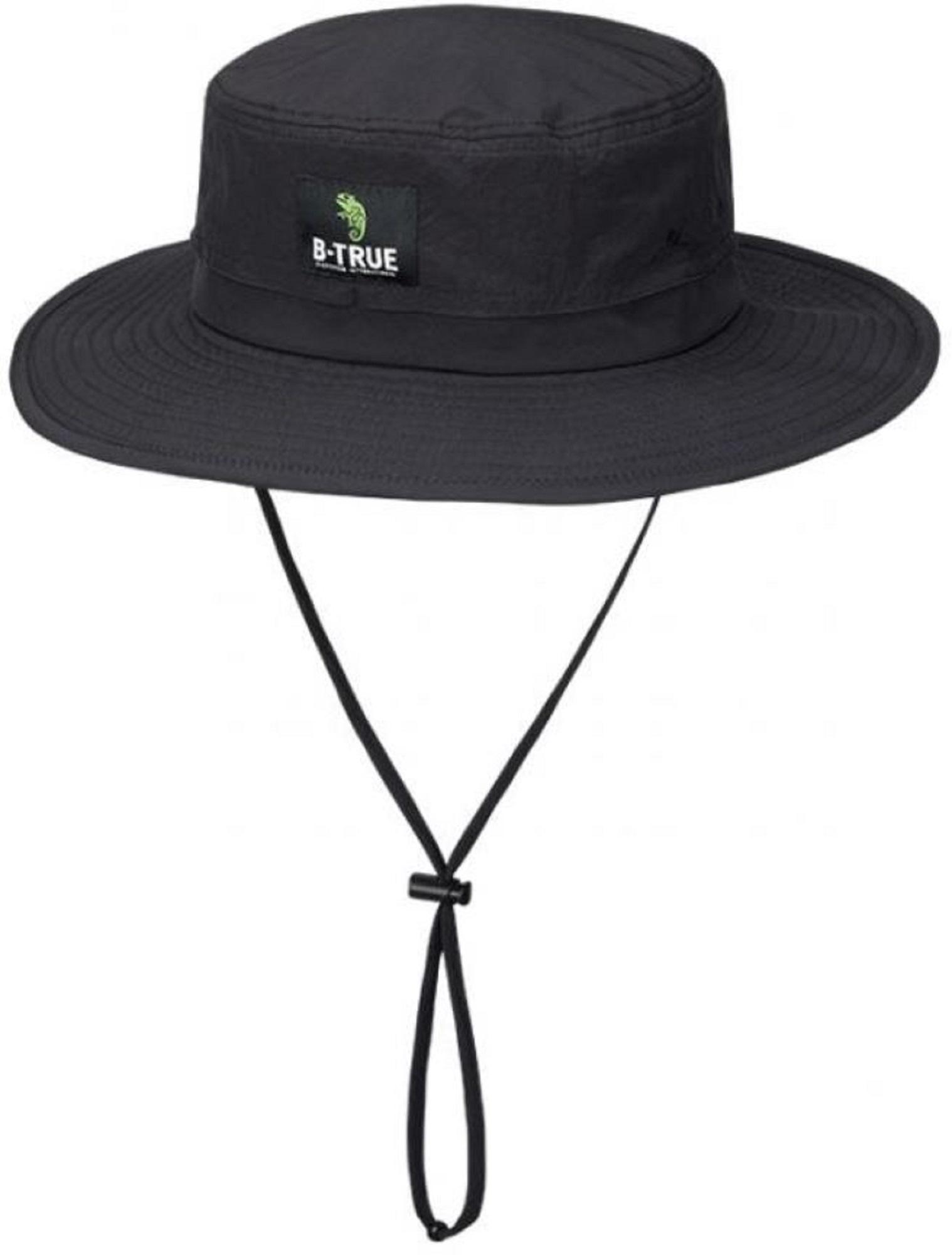 Evergreen Hat Safari B-True Free Size Black (0648)