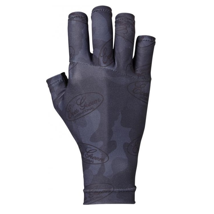 Evergreen Glove UV Cut Size M Black Camou (5522)