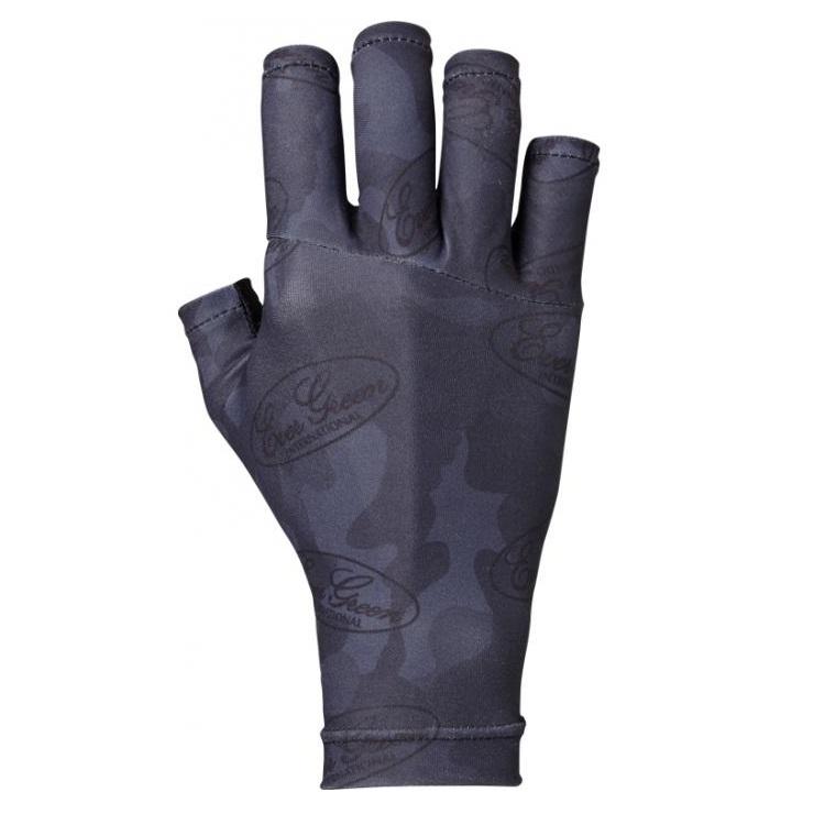 Evergreen Glove UV Cut Size L Green Camou 2539