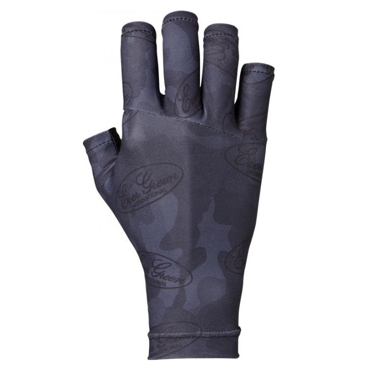 Evergreen Glove UV Cut Size L Black Camou (5539)