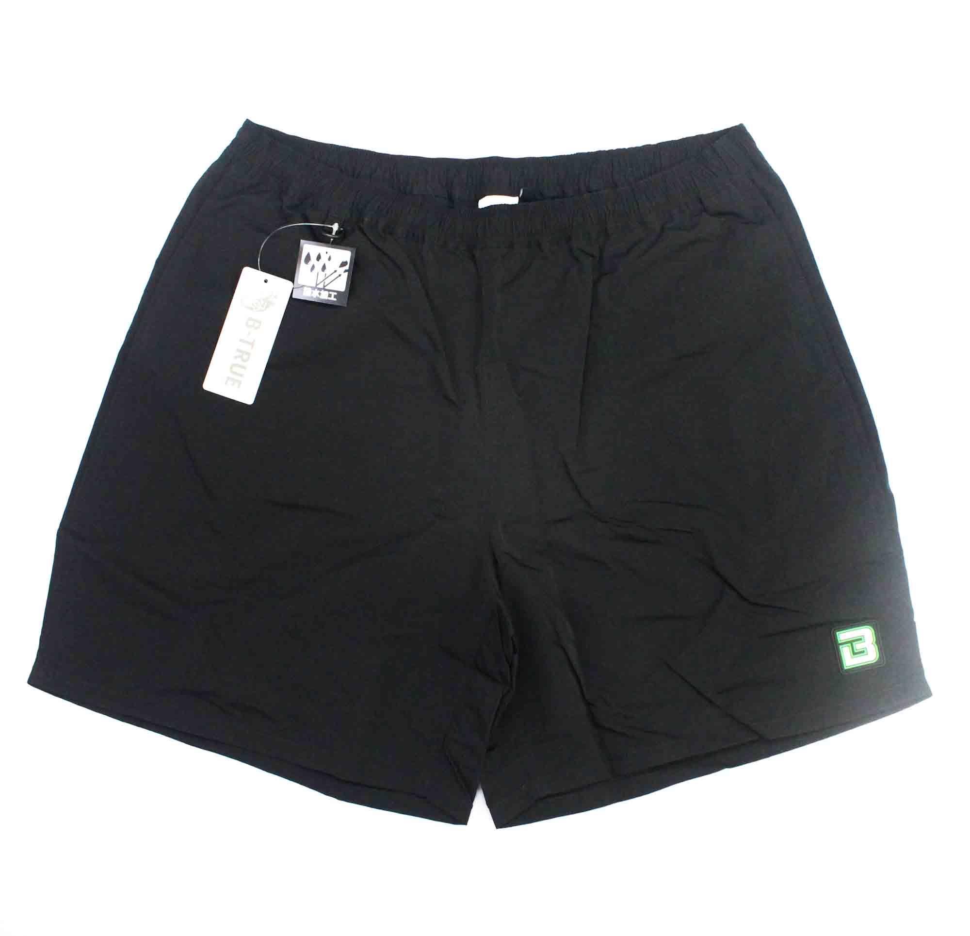 Evergreen Pants Shorts B True Size L Black (1355)