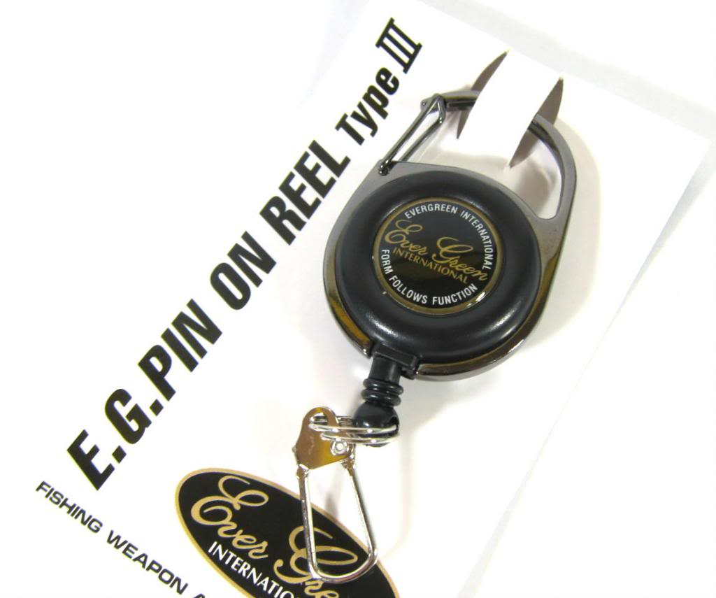 Evergreen Pin on Reel Carabina for Accessories (9551)