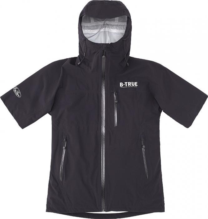 Sale Evergreen Rain Jacket Stretch Short Sleeve B-True Size M Black (6777)