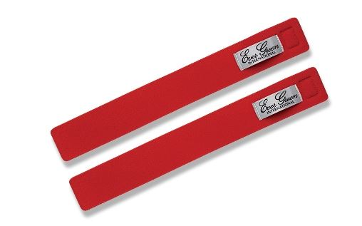 Evergreen Rod Belt Strap 2 Piece Pack Red (6168)