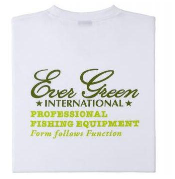 Evergreen T-Shirt Dry Fit Short Sleeve 18 C-Type Size L White (5499)