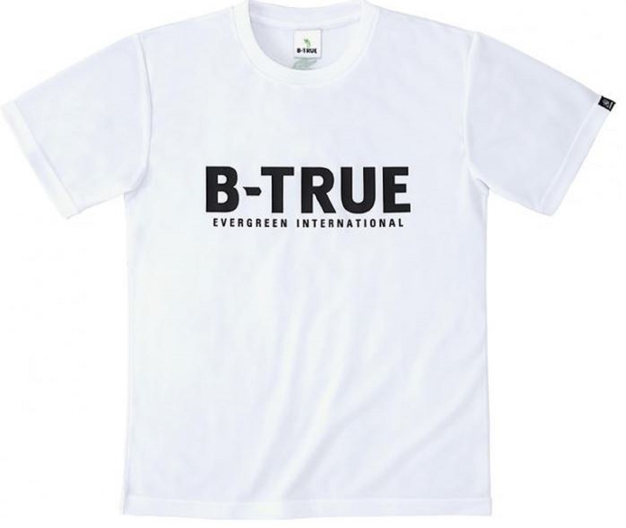Evergreen T-Shirt Dry Fit Short Sleeve B-True A Type Size 3L White (7800)