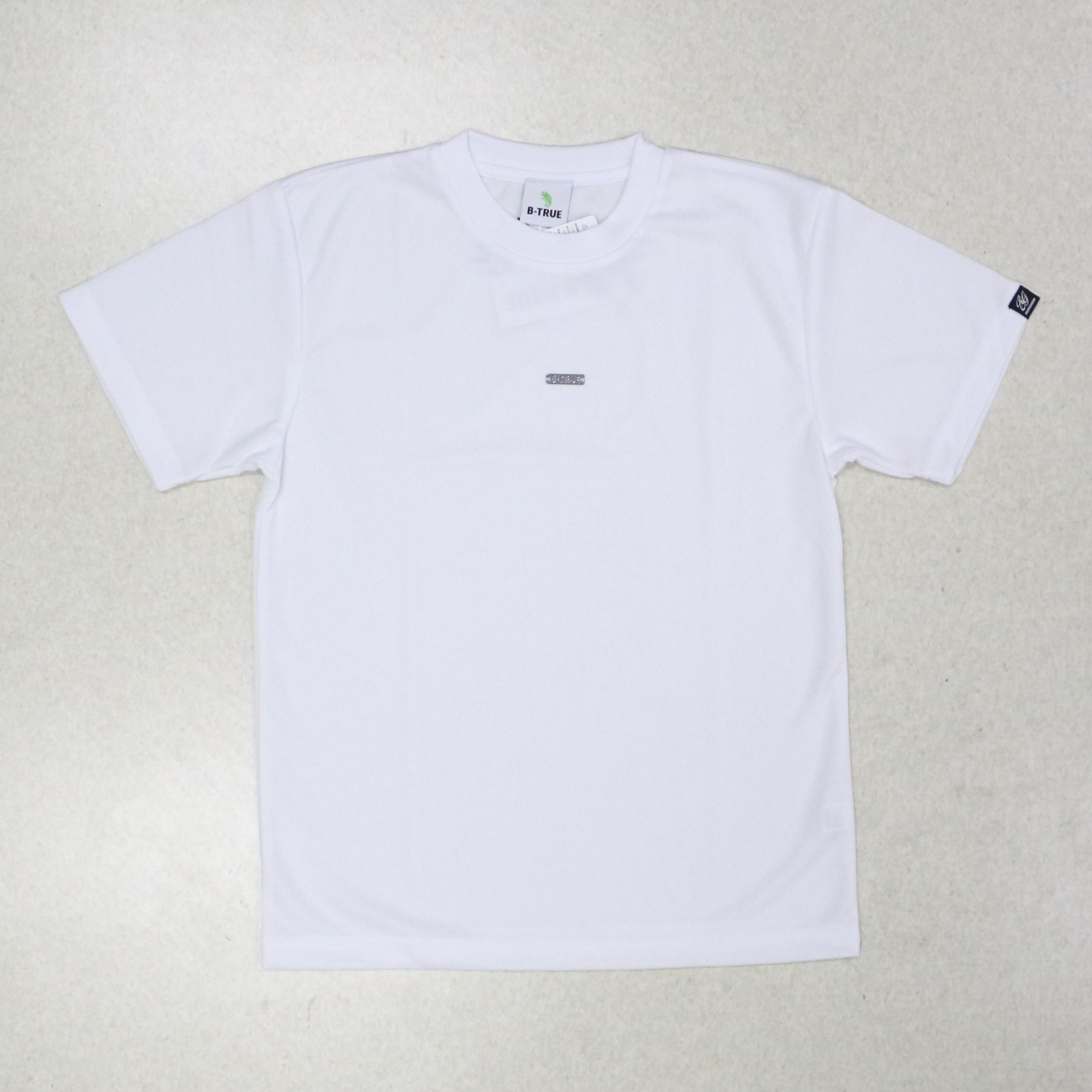 Sale Evergreen T-Shirt Dry Fit Short Sleeve B-True B Size S White(6413)