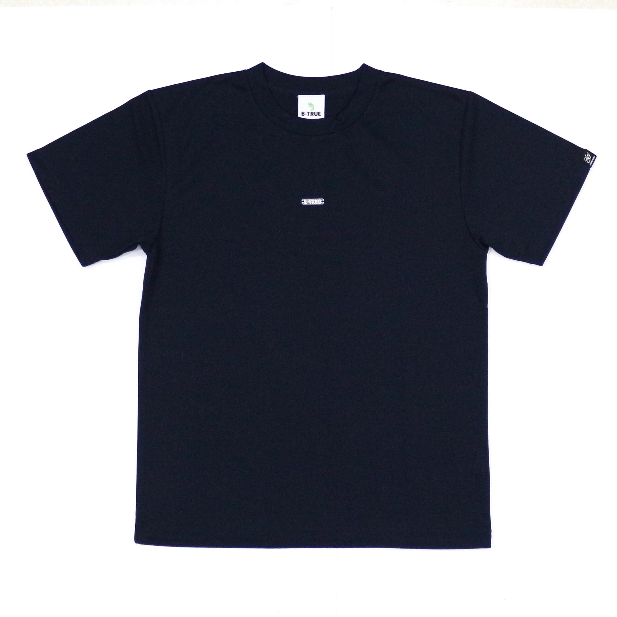 Sale Evergreen T-Shirt Dry Fit Short Sleeve B-True B Size M Navy (6437)