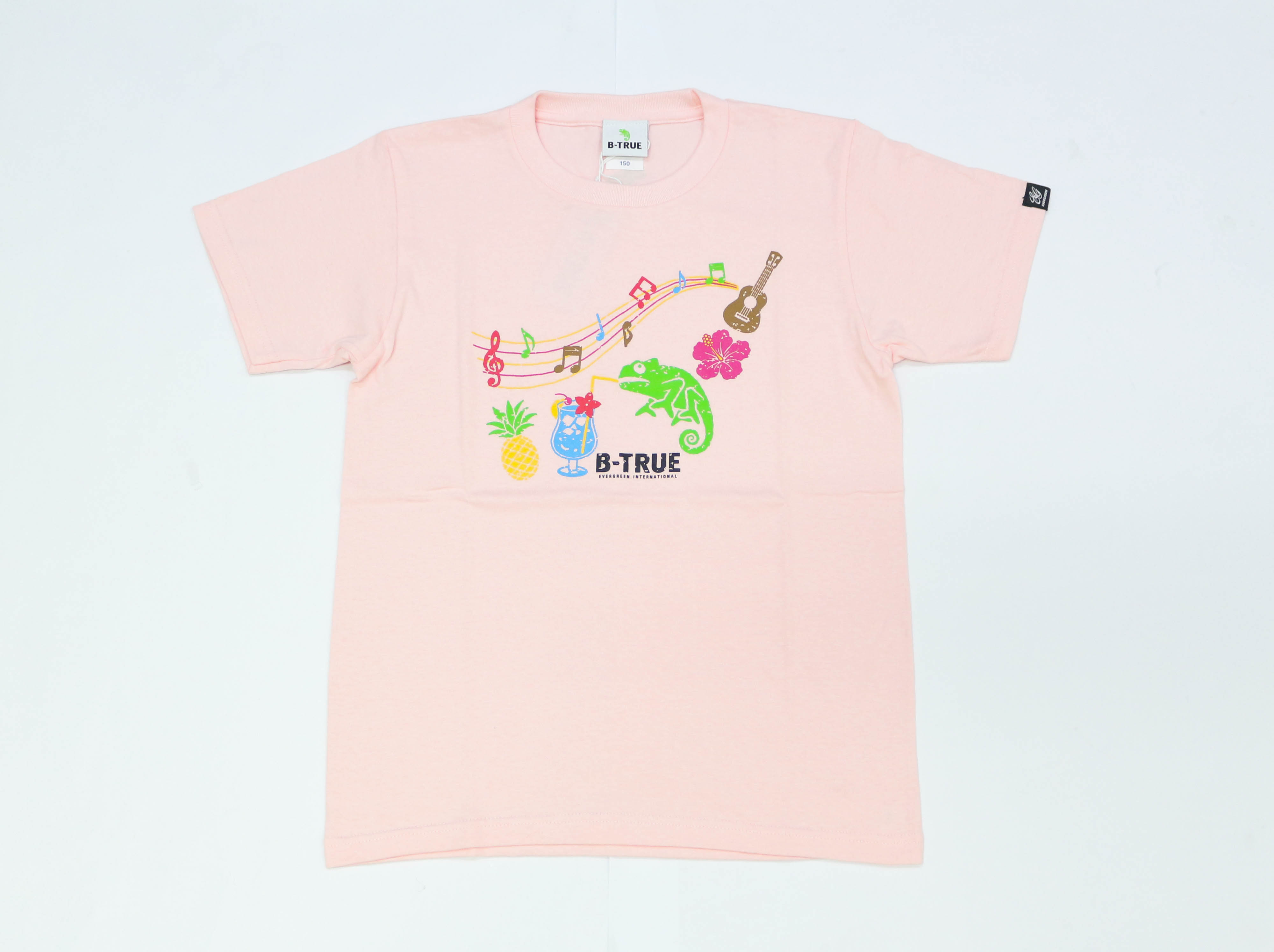 Evergreen T-Shirt Short Sleeve Type 1 Size SS Pink (0595)
