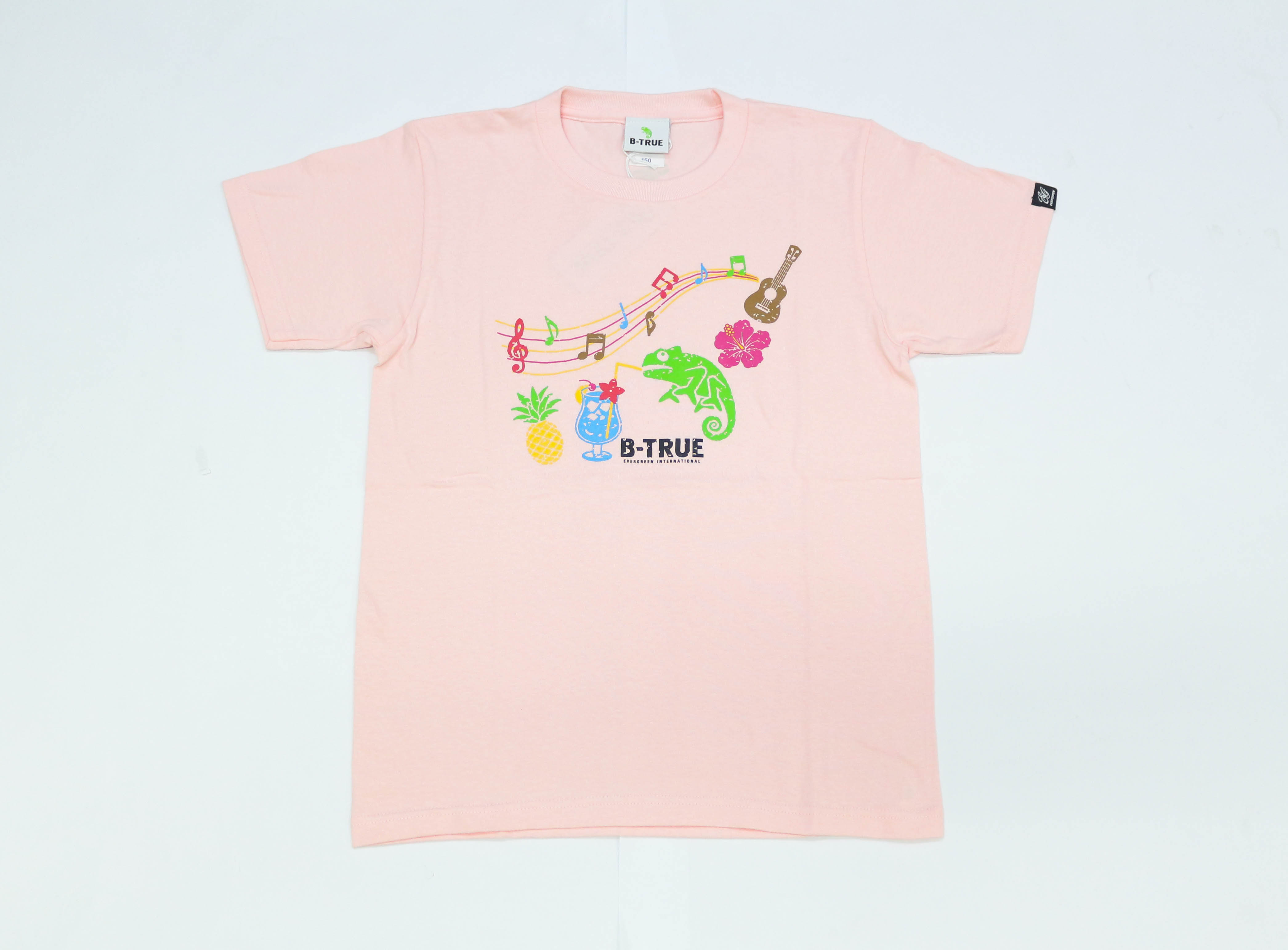Sale Evergreen T-Shirt Short Sleeve Type 1 Size S Pink (0656)