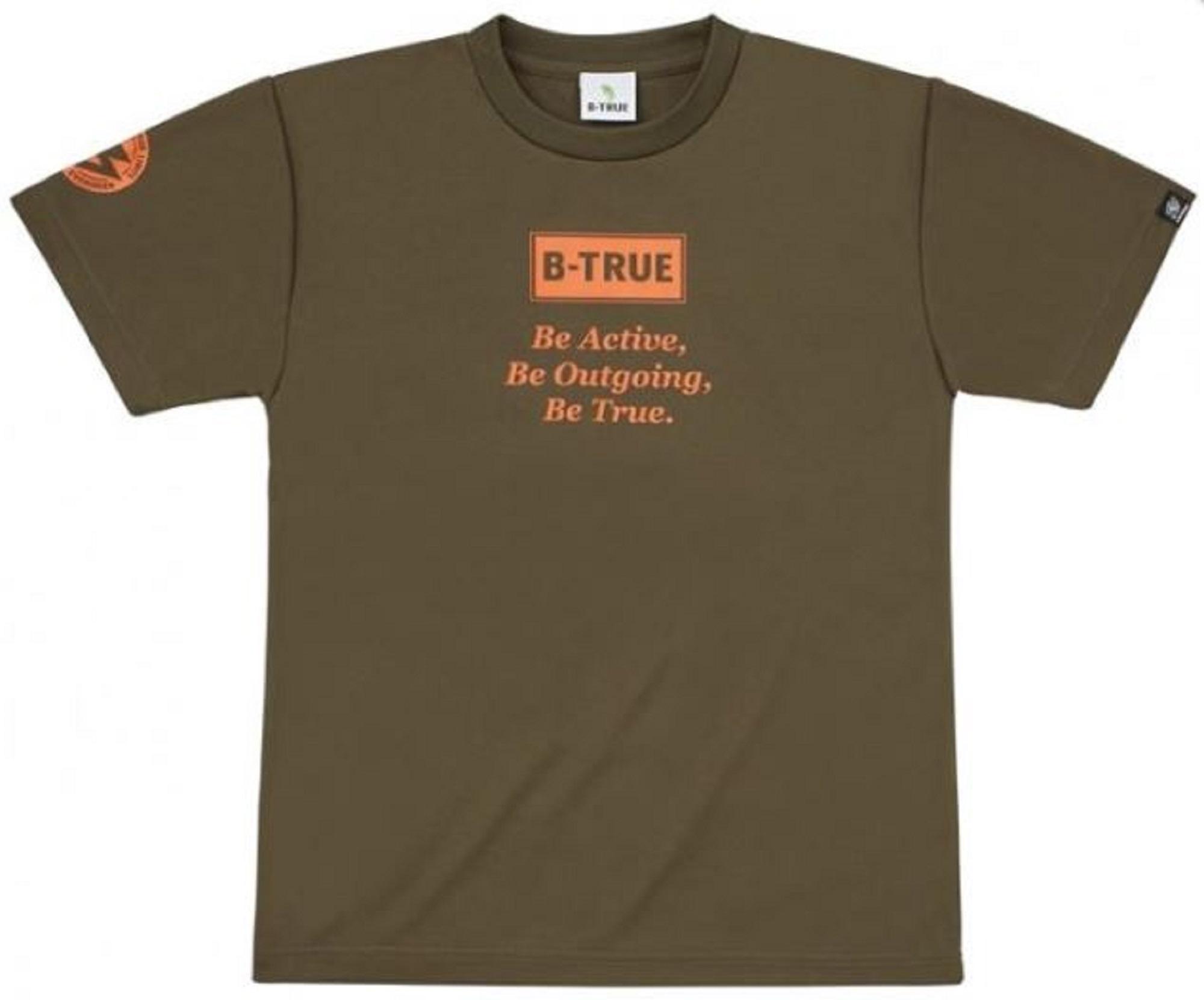 Evergreen T-Shirt Dry Fit Short Sleeve B-True D Type Size XL Green (4906)