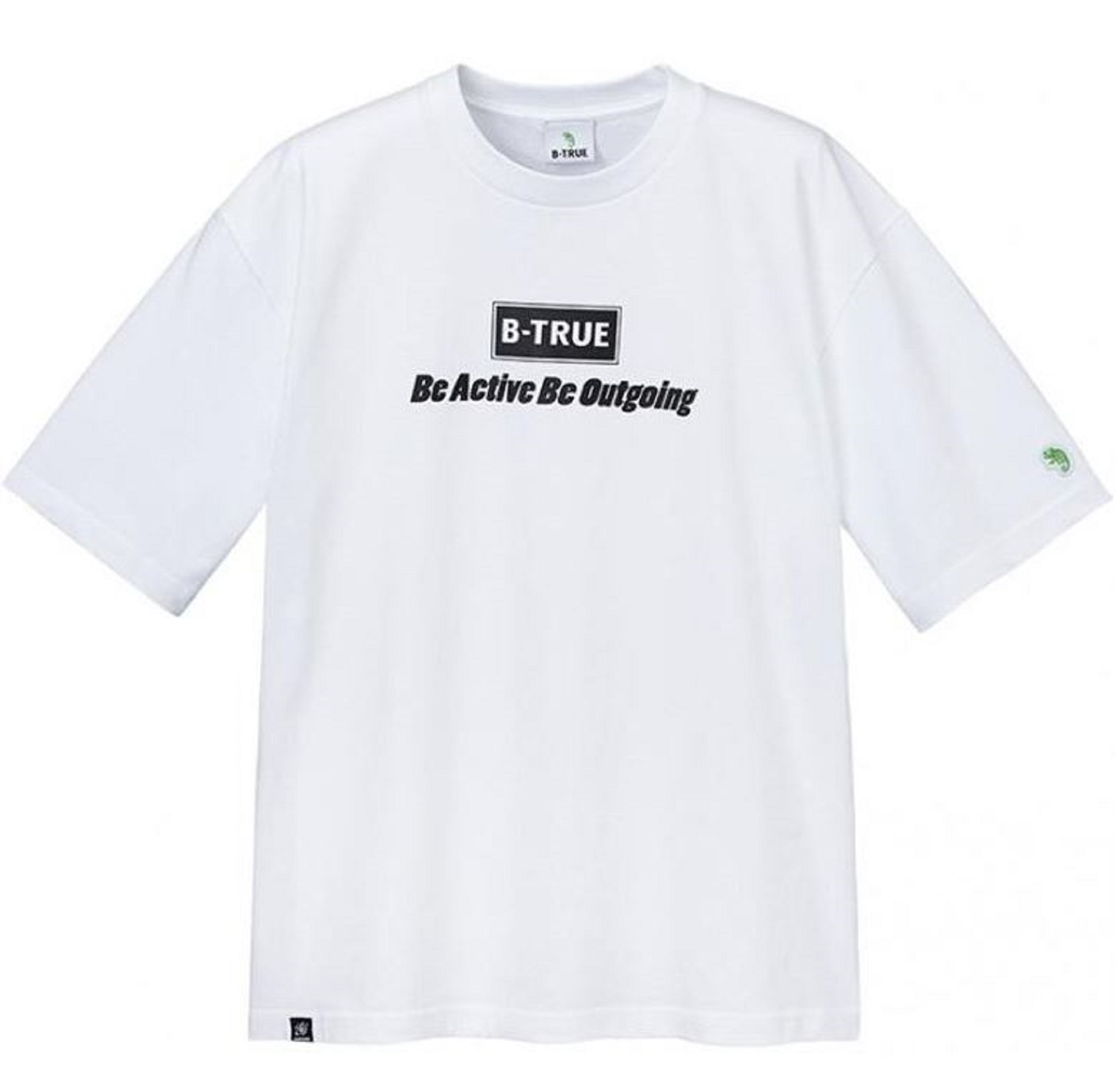 Evergreen T-Shirt Dry Fit B-True Big Tee Type Size L White (6191)