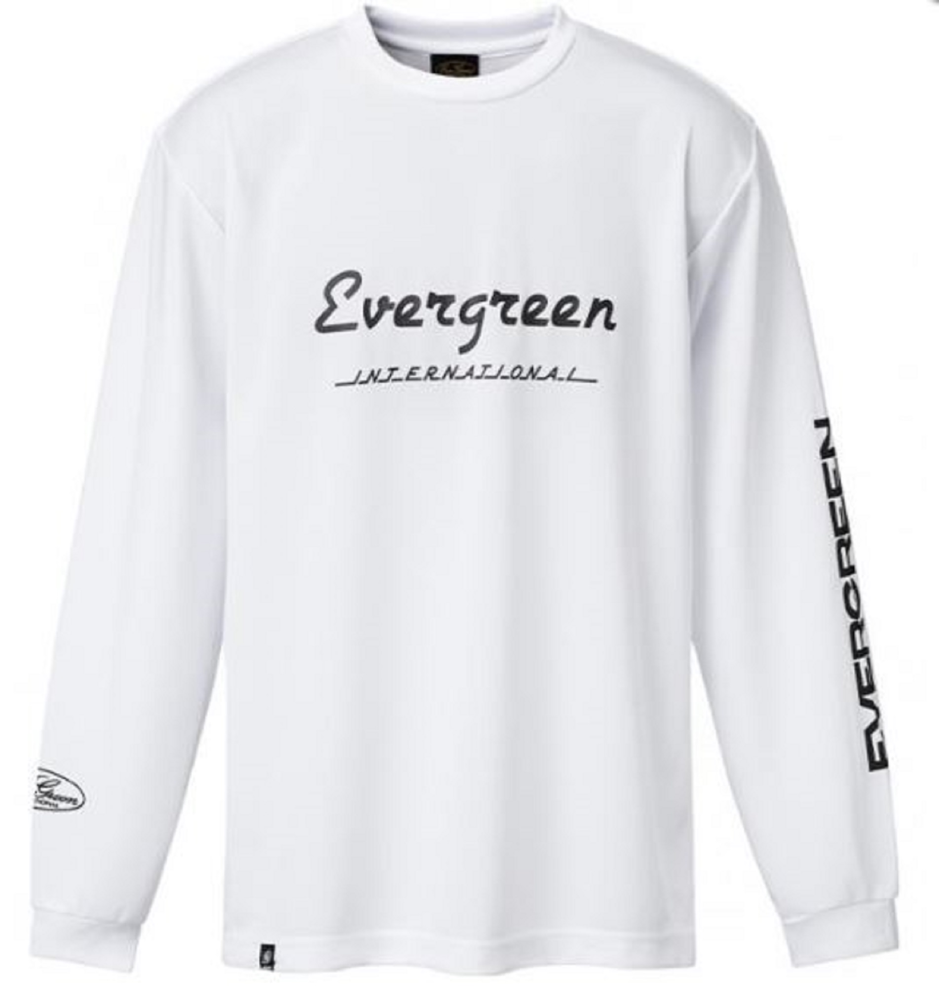 Evergreen T-Shirt Dry Fit Long Sleeve F Type Size XXL White (0112)