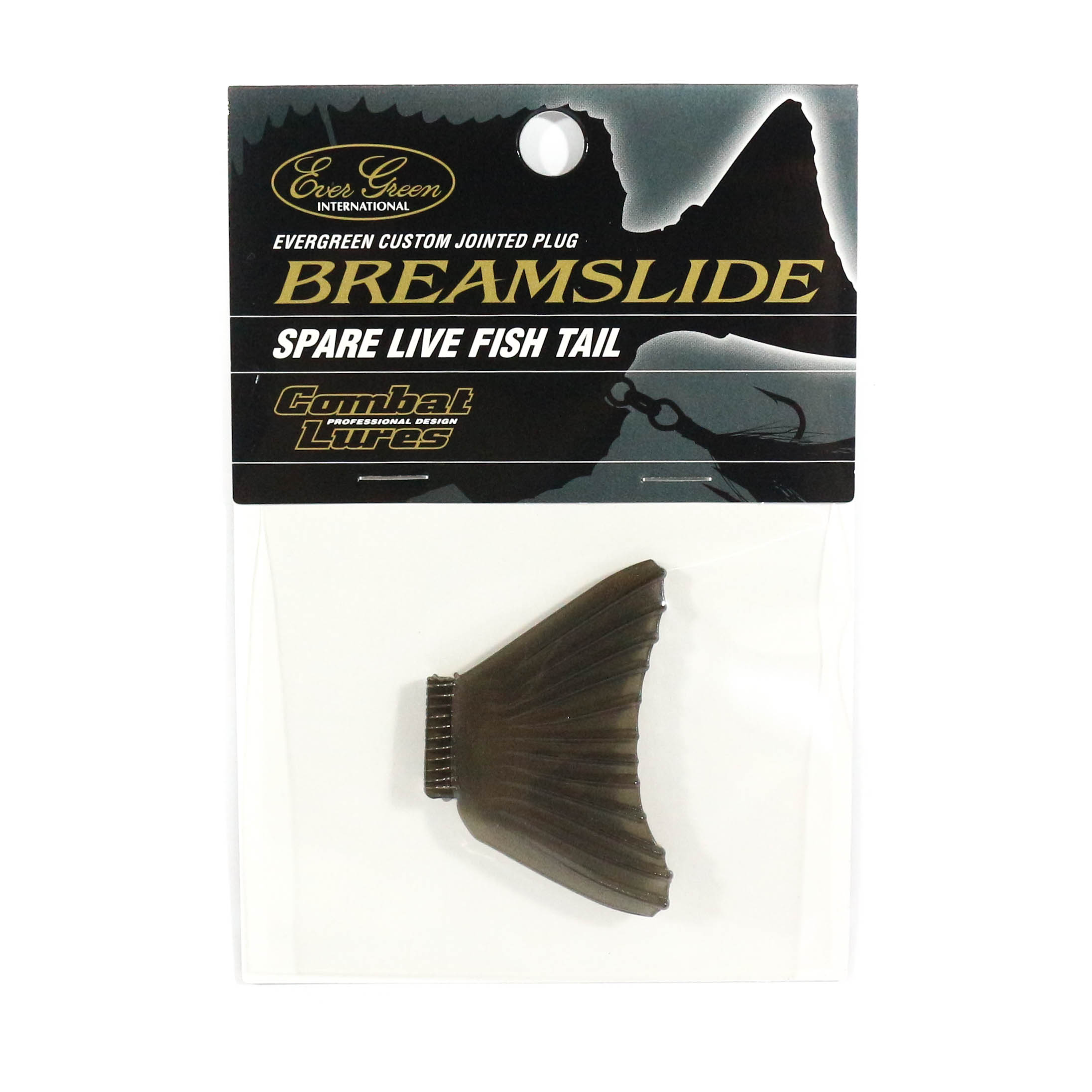 Evergreen Bream Slide Spare Tail Smoky (8562)