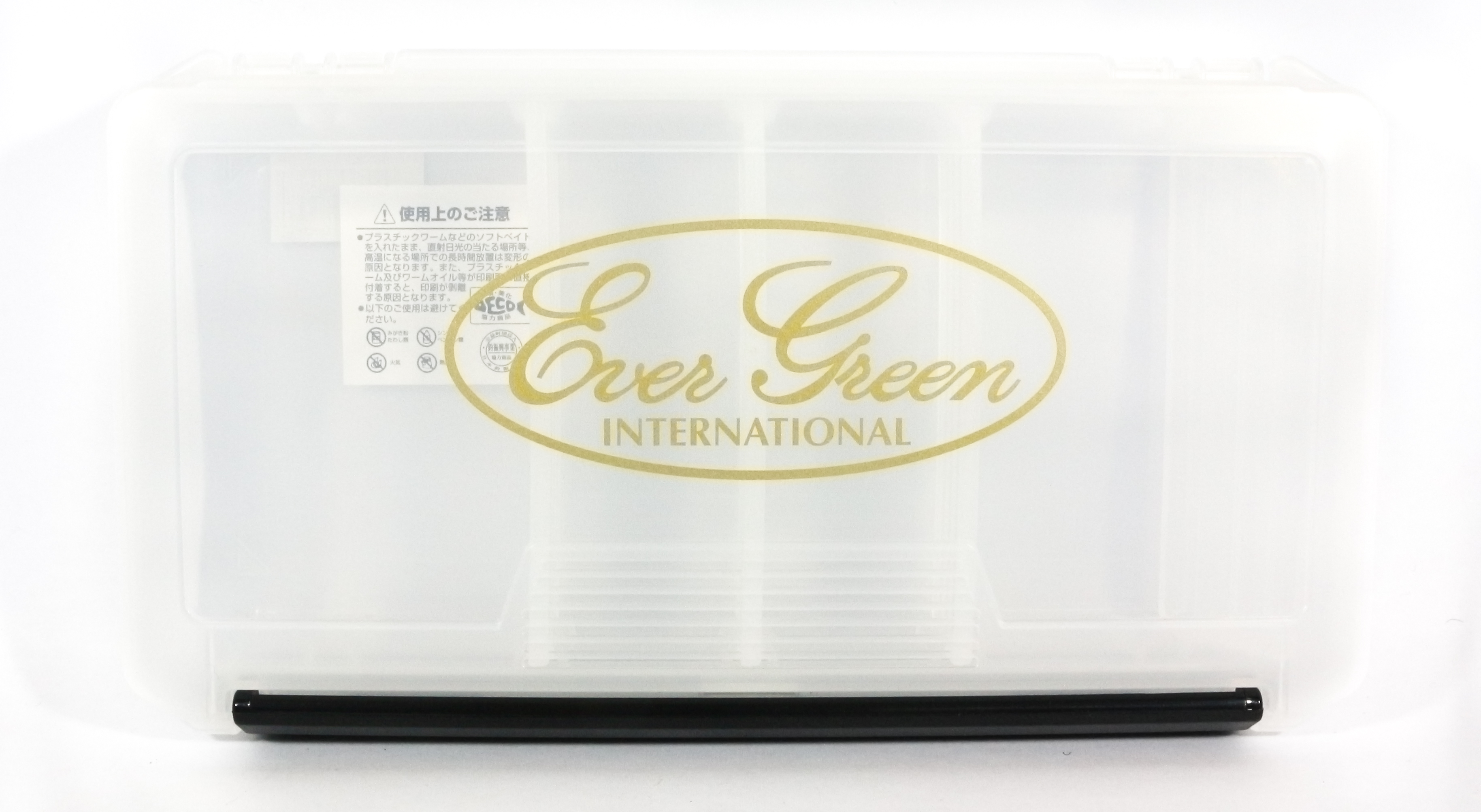 Evergreen Tackle Box Clear Evergreen International 233 x 127 x 34 mm (8099)
