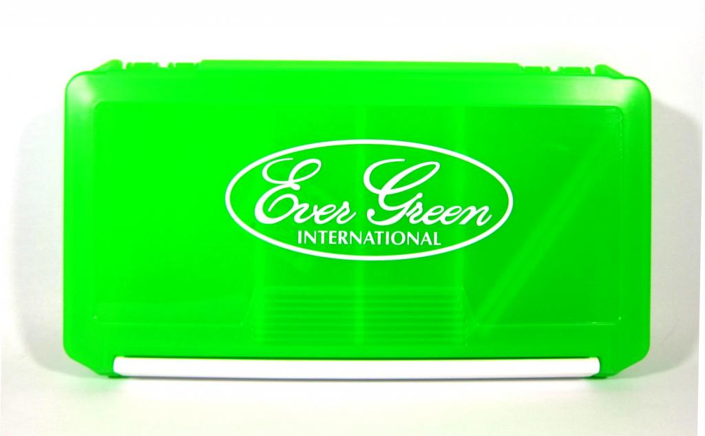 Evergreen Tackle Box Green Evergreen International 233 x 127 x 34 mm (6438)