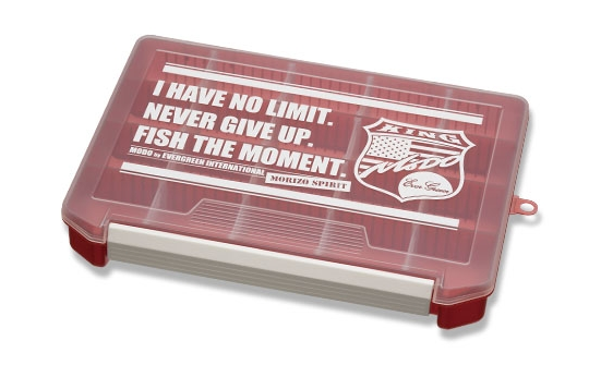 Evergreen Tackle Box Red Large Modo 255 x 190 x 40 mm (0341)