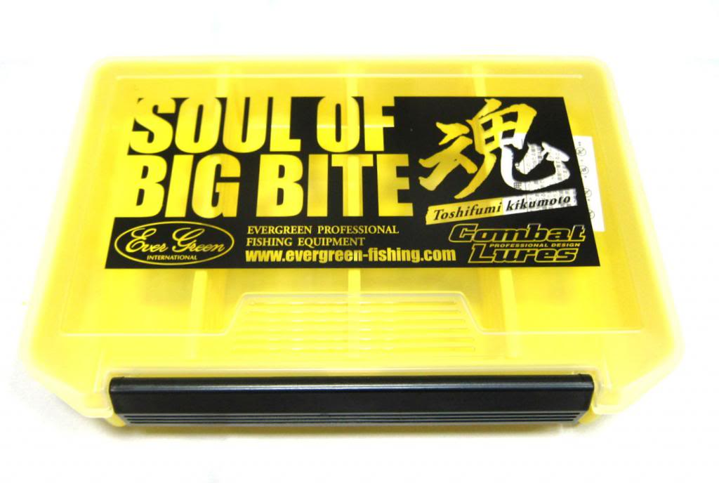 Evergreen Tackle Box Small Yellow Soul of Big Bite 205 x 145 x 40 mm (2567)