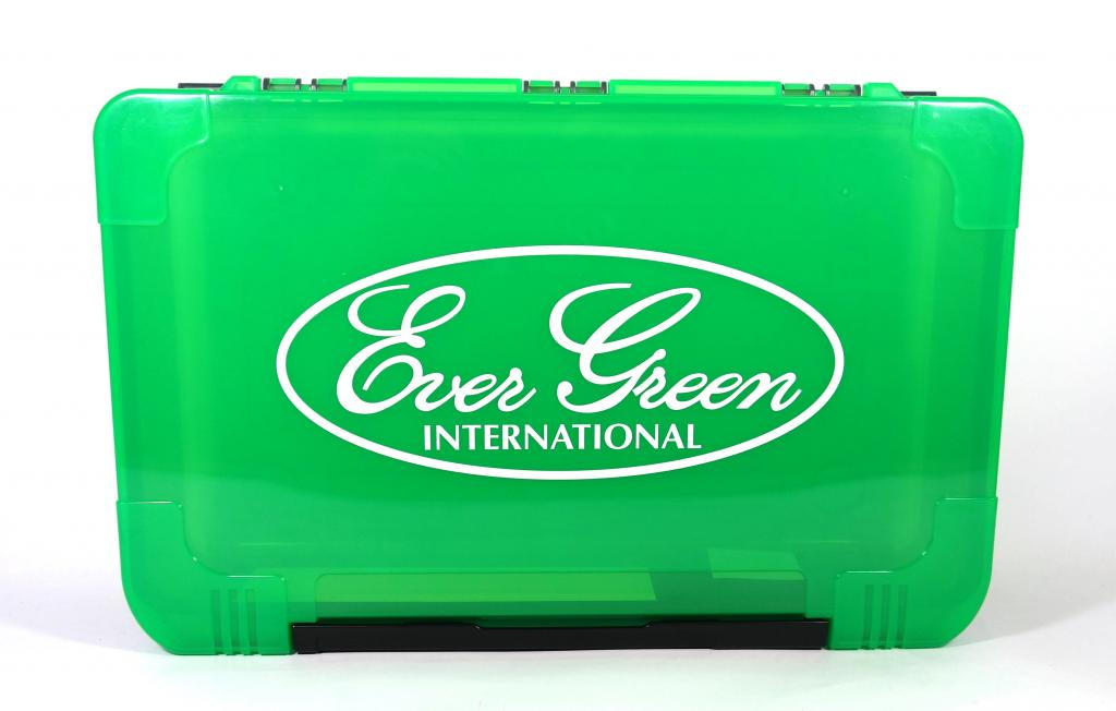 Evergreen Tackle Box Big Free Green 355 x 225 x 80 mm (2534)
