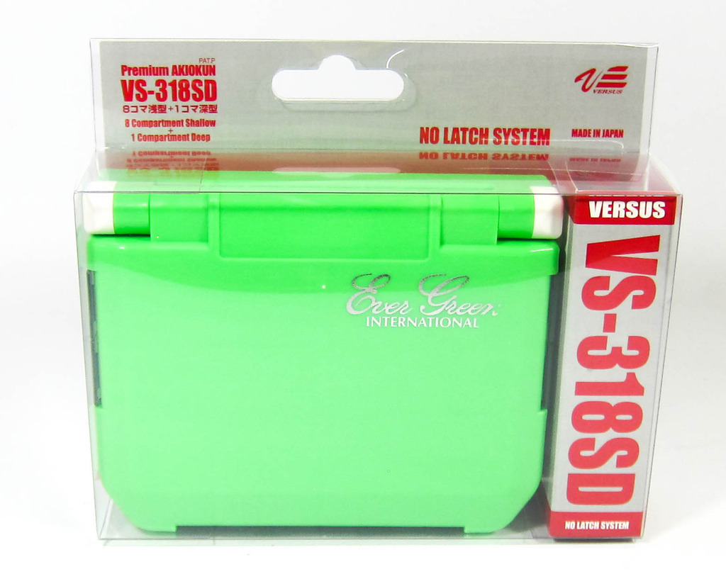 Evergreen Handy Box VS 318SD 122 x 87 x 34 mm Green (4873)