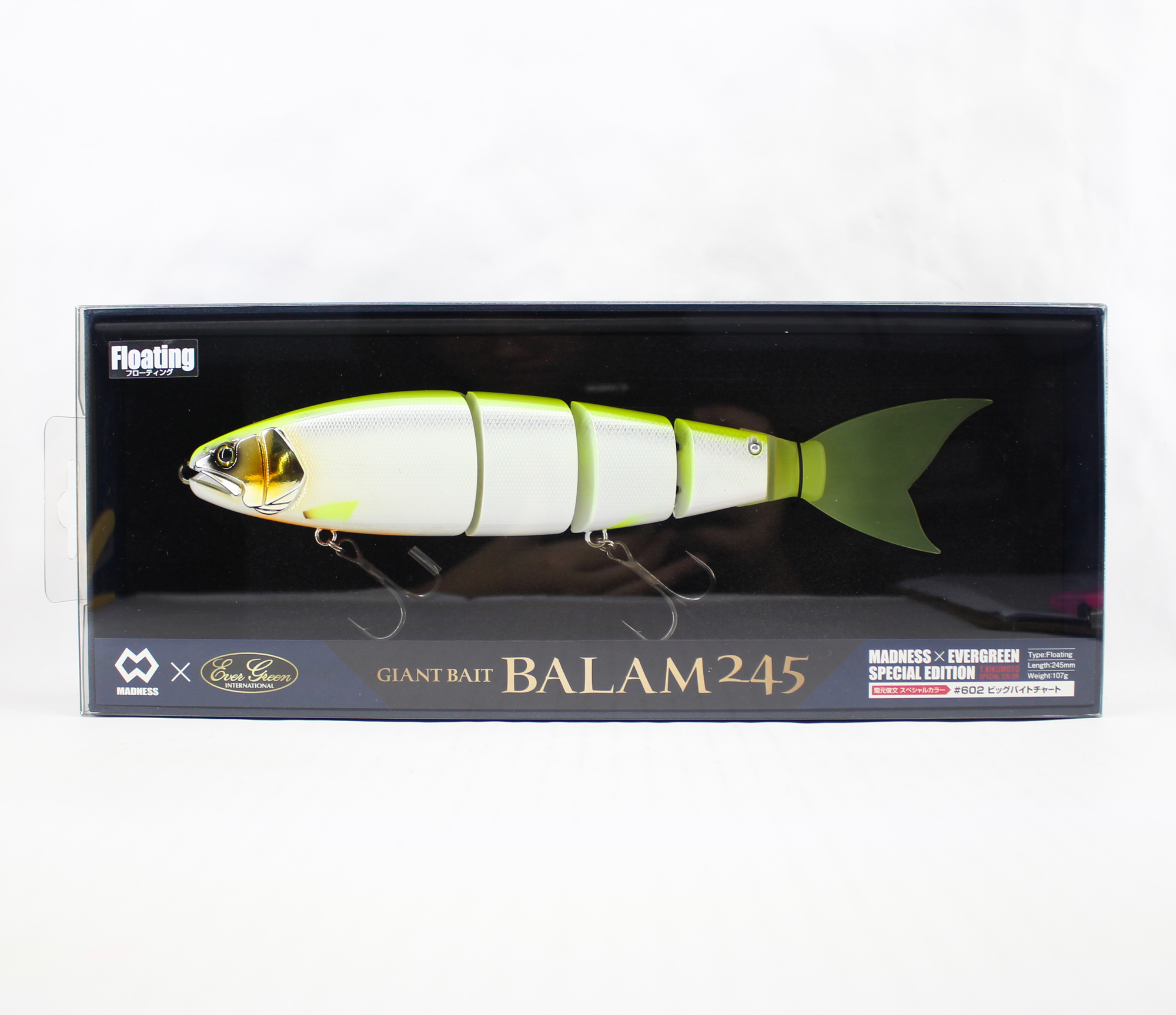 Evergreen Balam 245 Floating Lure 602 (7204)