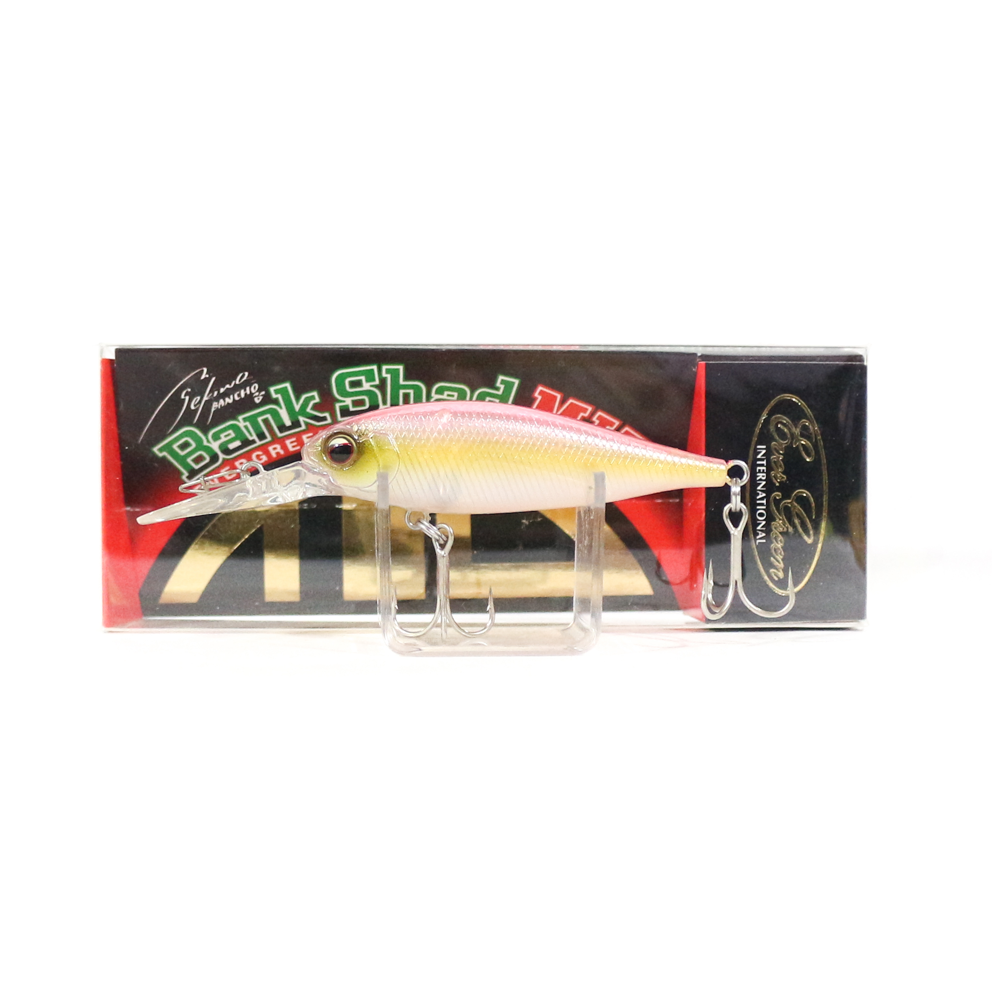 Sale Evergreen Bank Shad Mid Range Floating Lure 54 (8643)