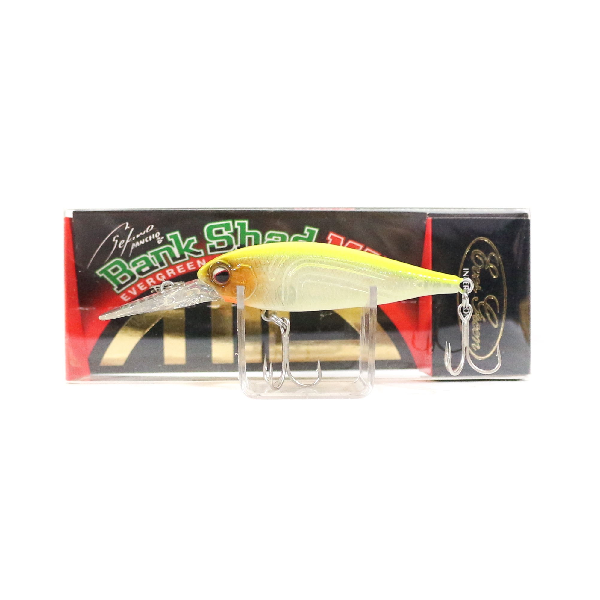 Sale Evergreen Bank Shad Mid Range Floating Lure 59 (8650)