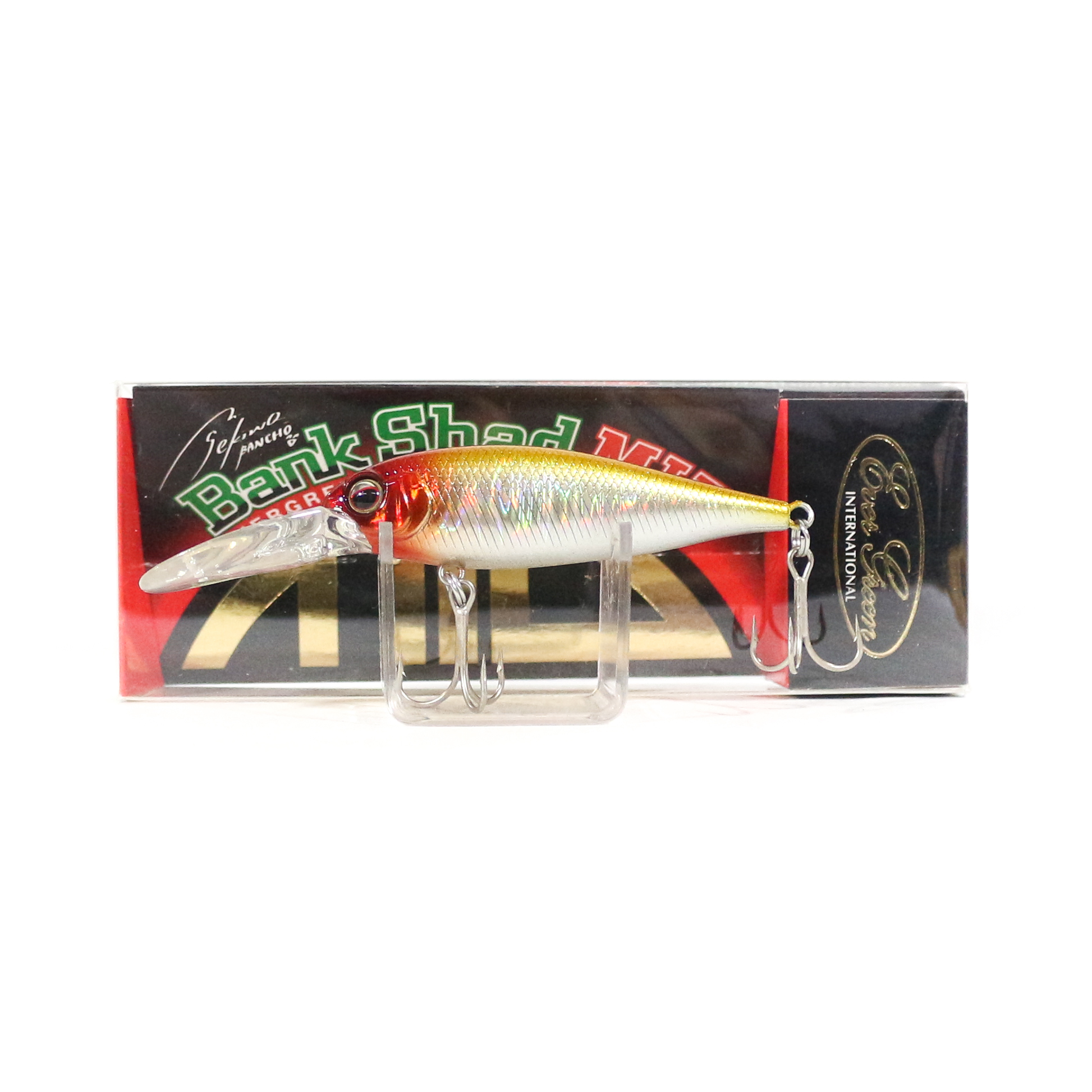 Evergreen Bank Shad Mid Range Floating Lure 125 (8667)