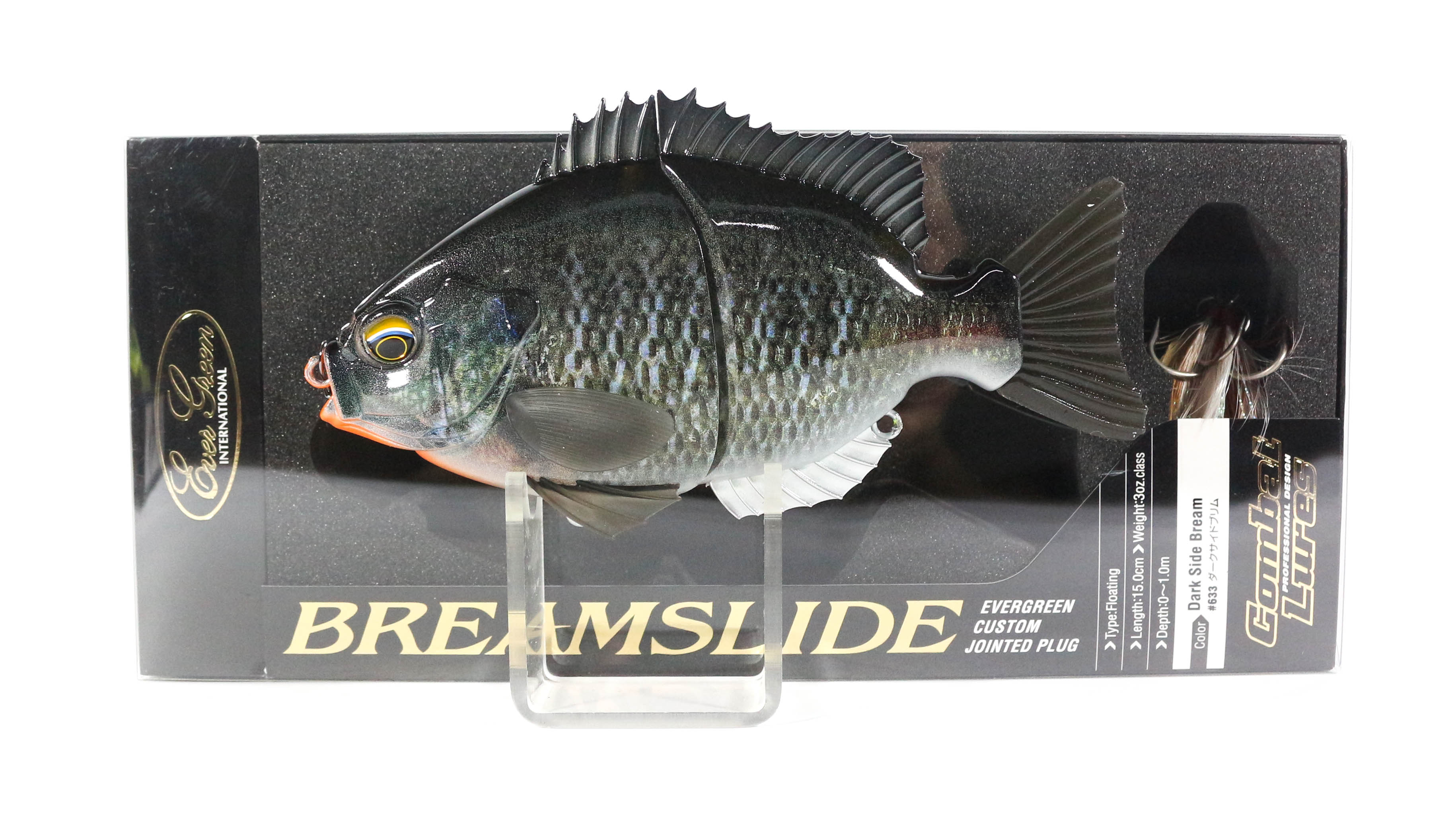 Evergreen Bream Slide Flat Side Jointed Lipless Floating Lure 633 (5974)