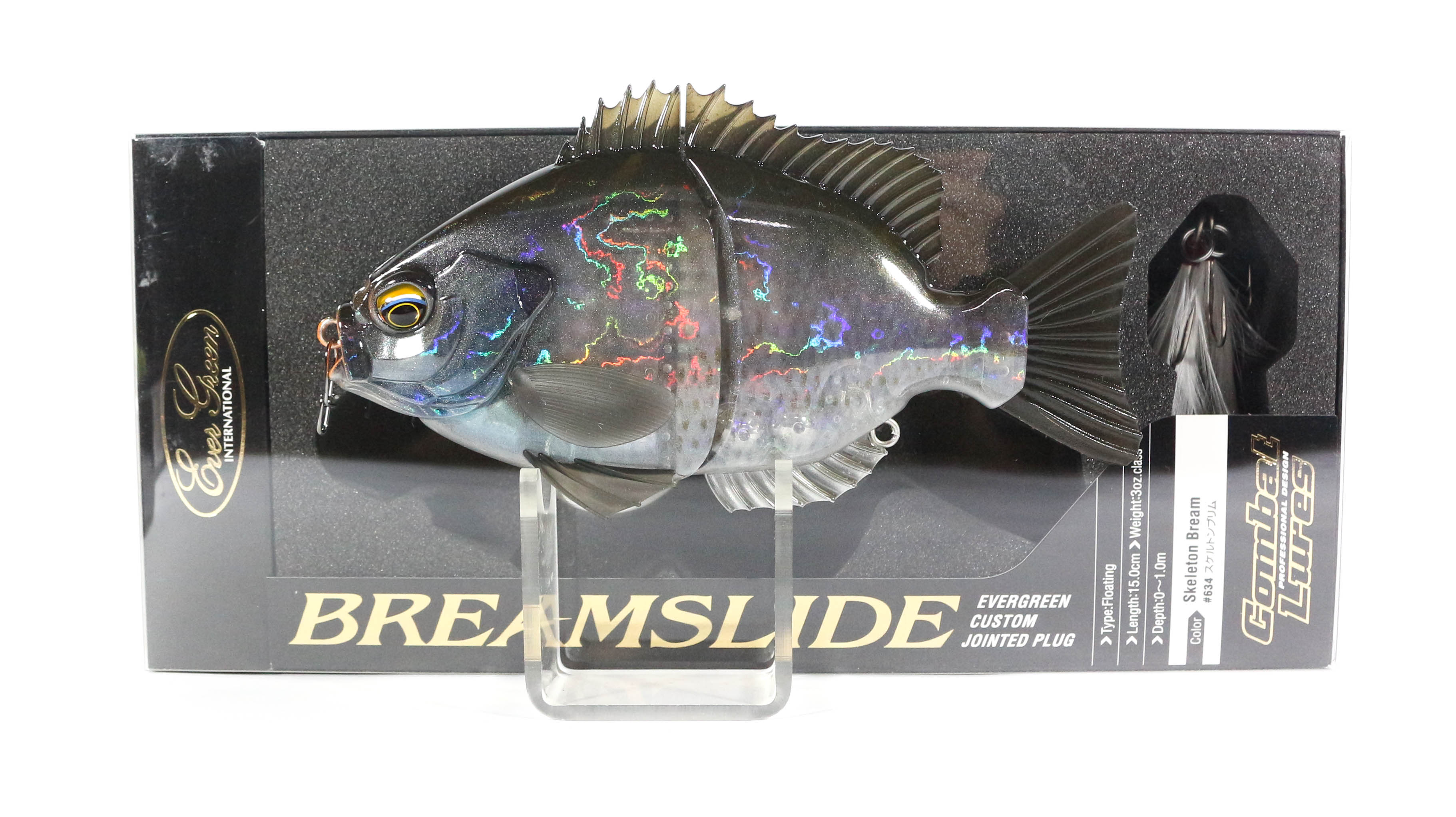 Evergreen Bream Slide Flat Side Jointed Lipless Floating Lure 634 (5981)