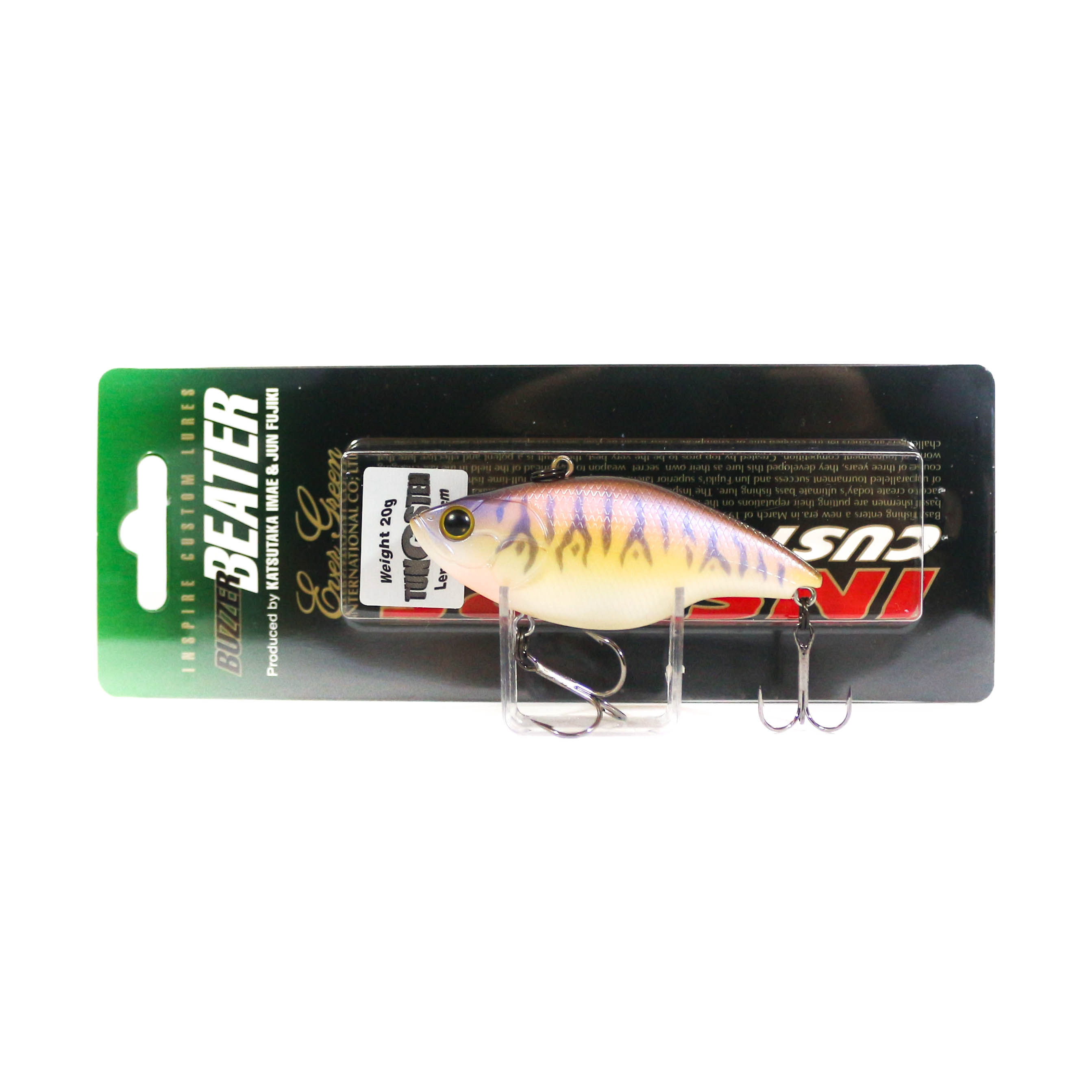 Evergreen Buzz Beater Tungsten Rattle Vibration Lure 144 (4732)