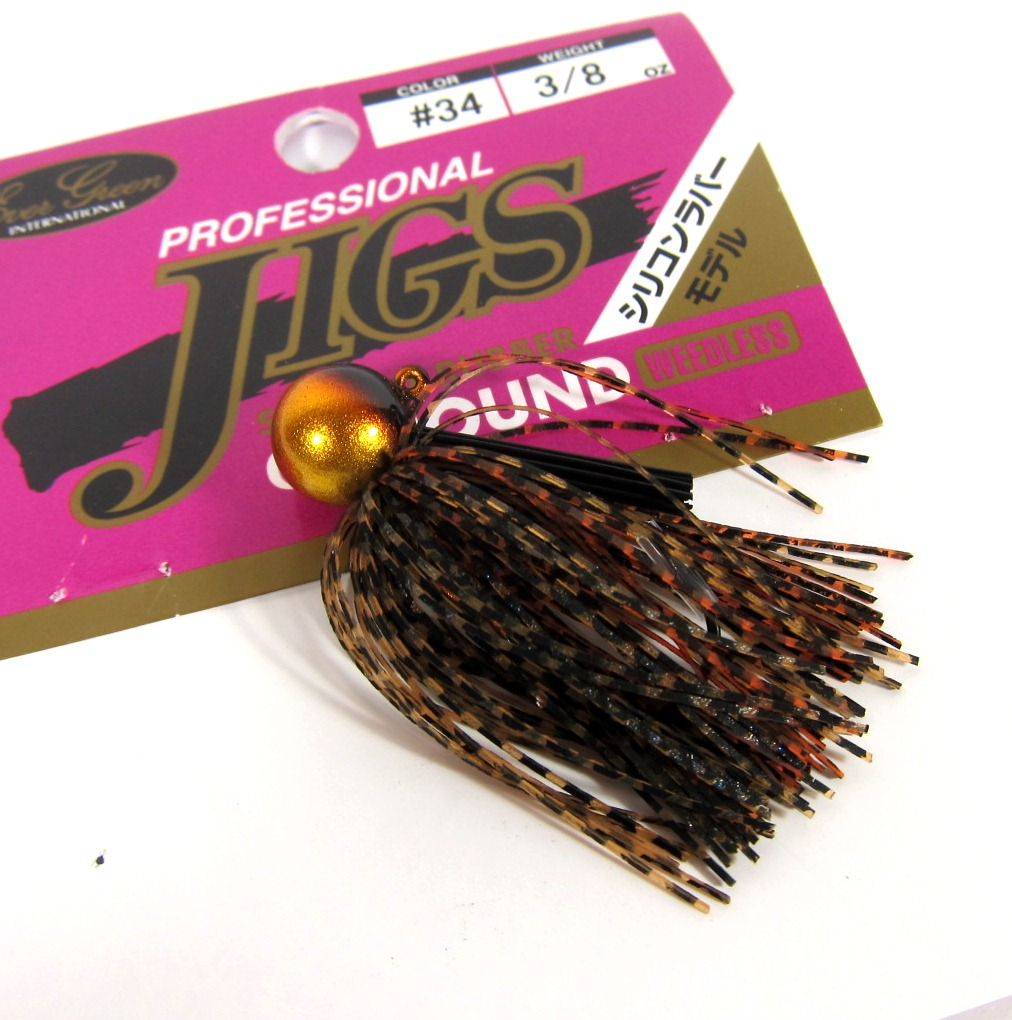 Evergreen Rubber Jig Professional CC Round 1/4 oz 34 (1913)