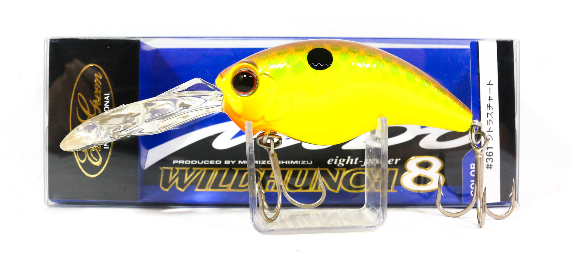 Evergreen Combat Crank Wild Hunch Eight Footer Floating Lure 361 (9568)