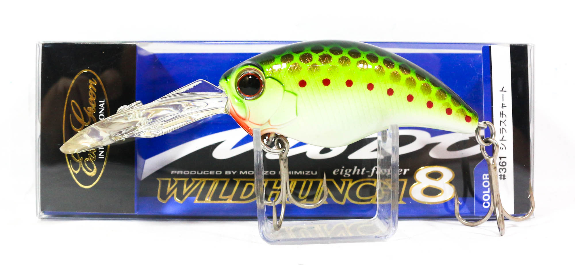 Evergreen Combat Crank Wild Hunch Eight Footer Floating Lure 373 (9575)