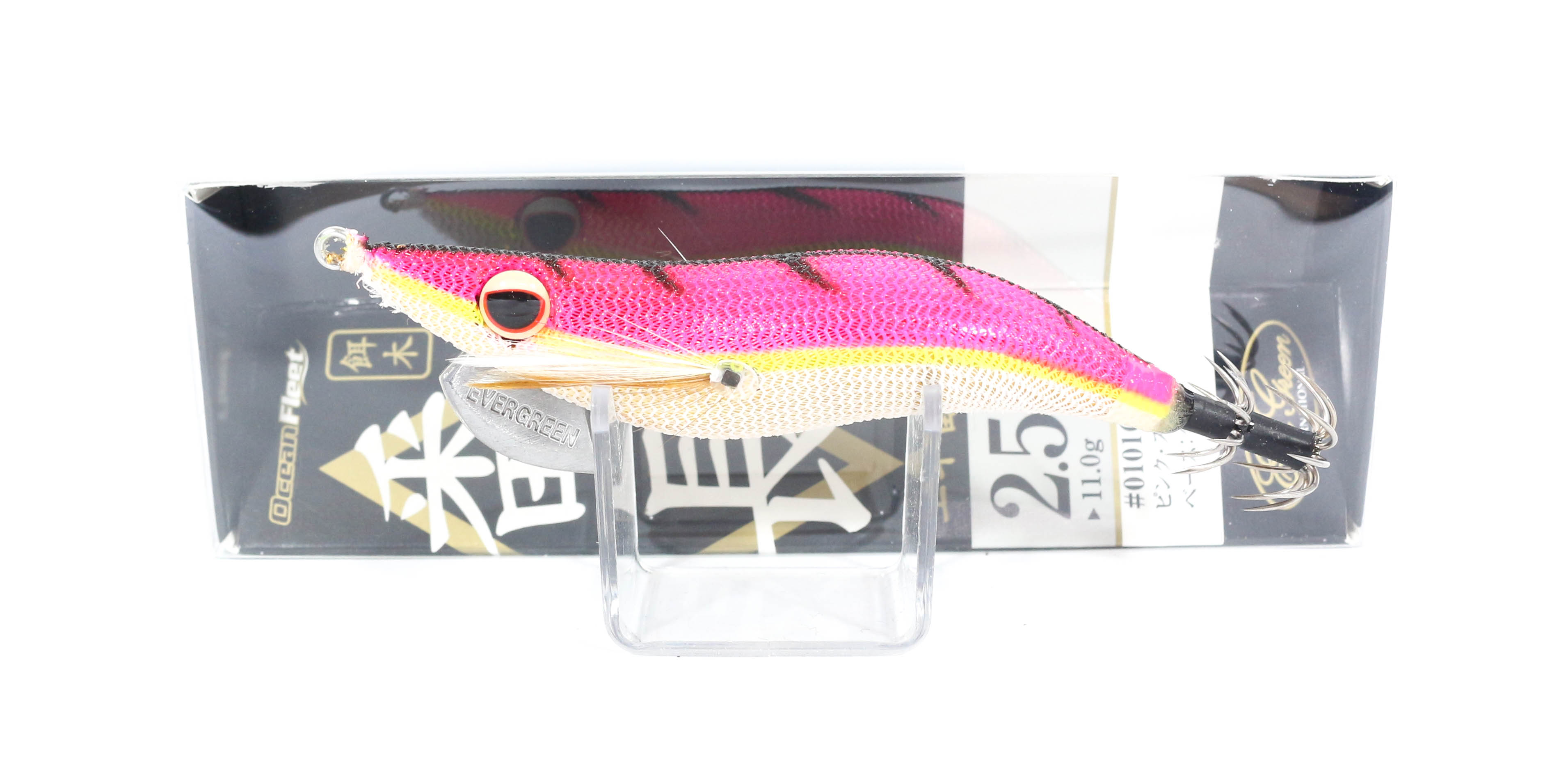 Evergreen Ocean Fleet Custom Squid Jig Lure 2.5 0101G (9230)