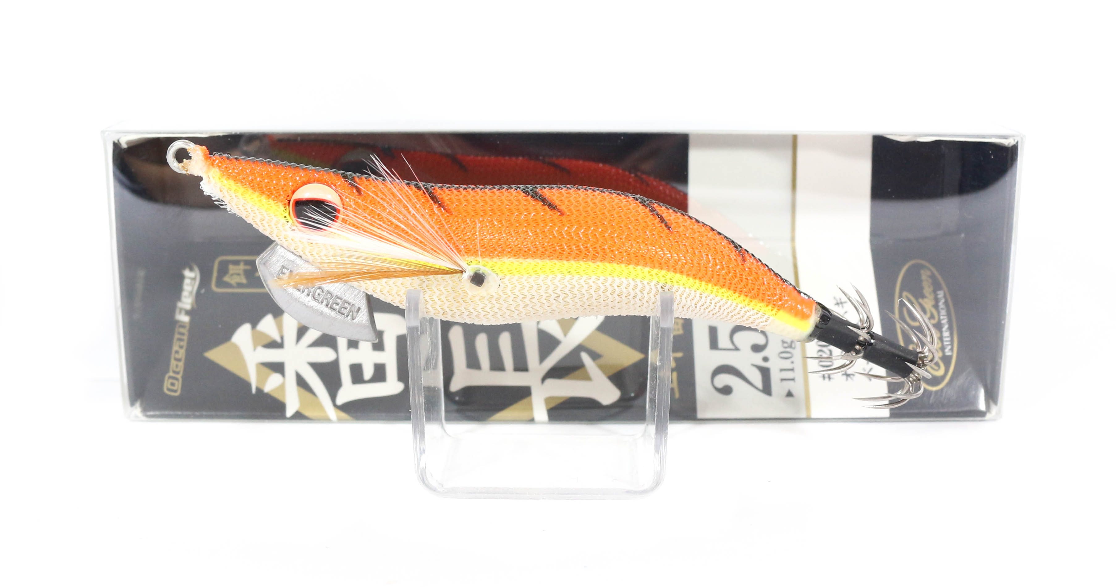 Evergreen Ocean Fleet Custom Squid Jig Lure 2.5 0201G (9308)