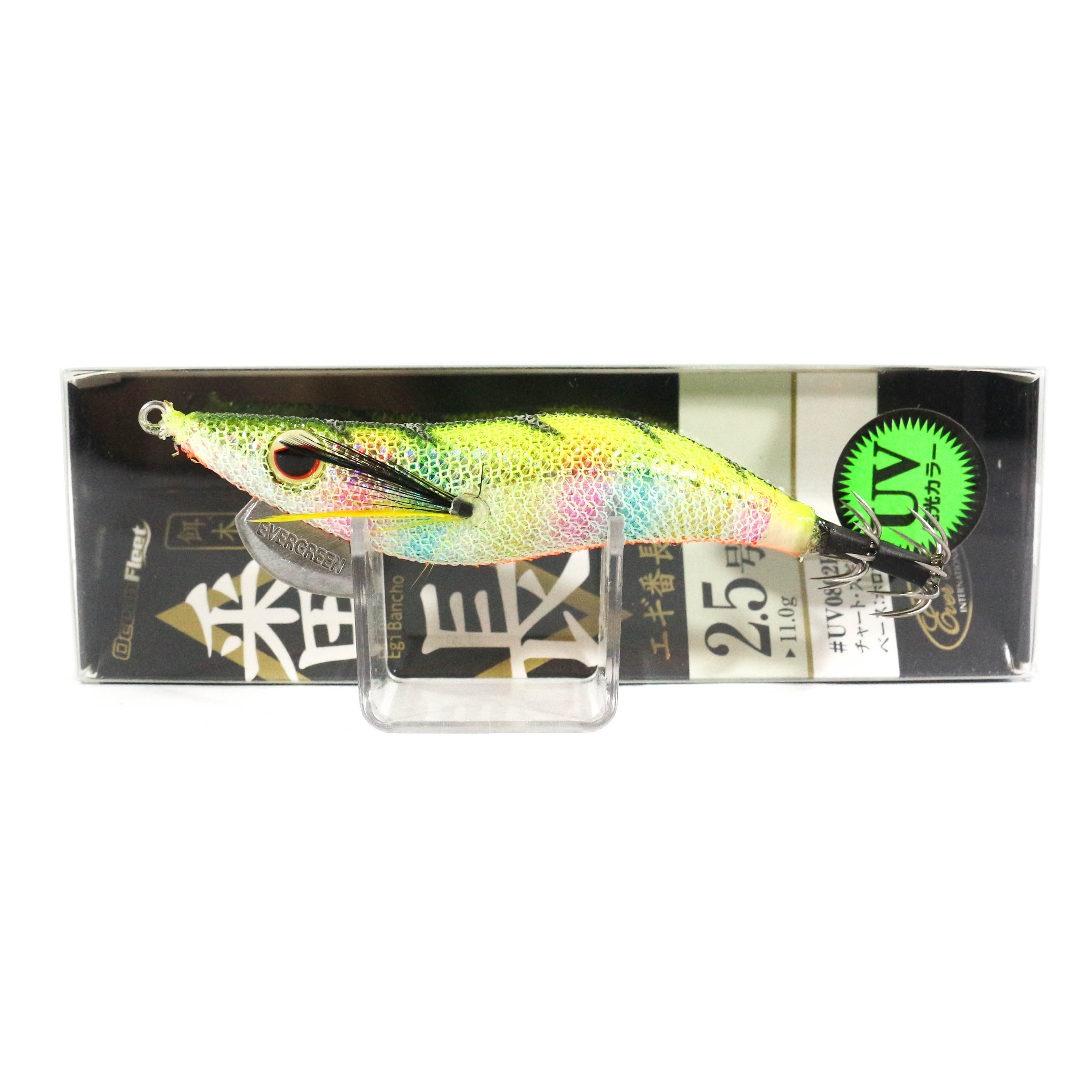 Evergreen Ocean Fleet Custom Squid Jig Lure 2.5 0802HM (6634)