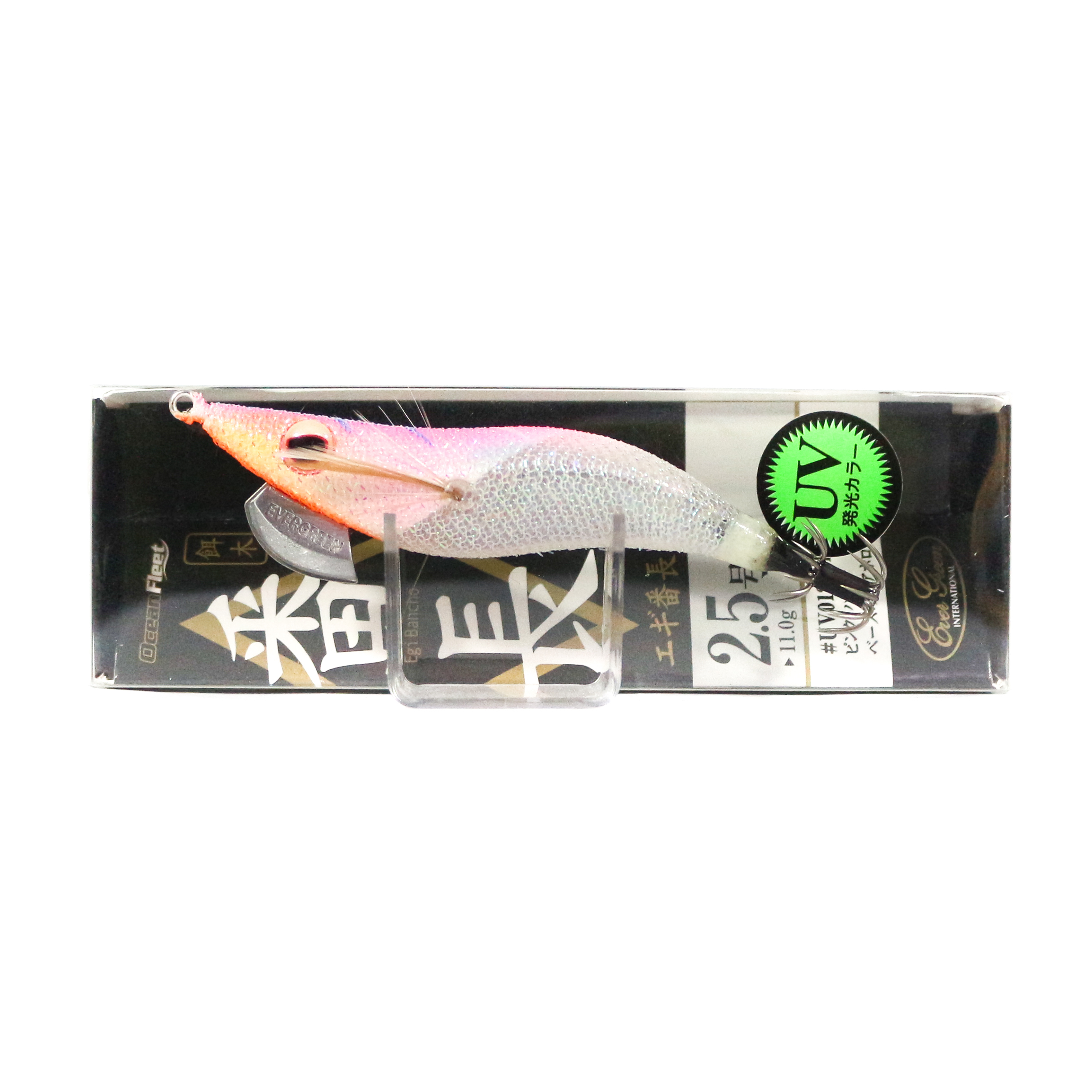Evergreen Ocean Fleet Custom Squid Jig Lure 2.5 0120CH (2583)