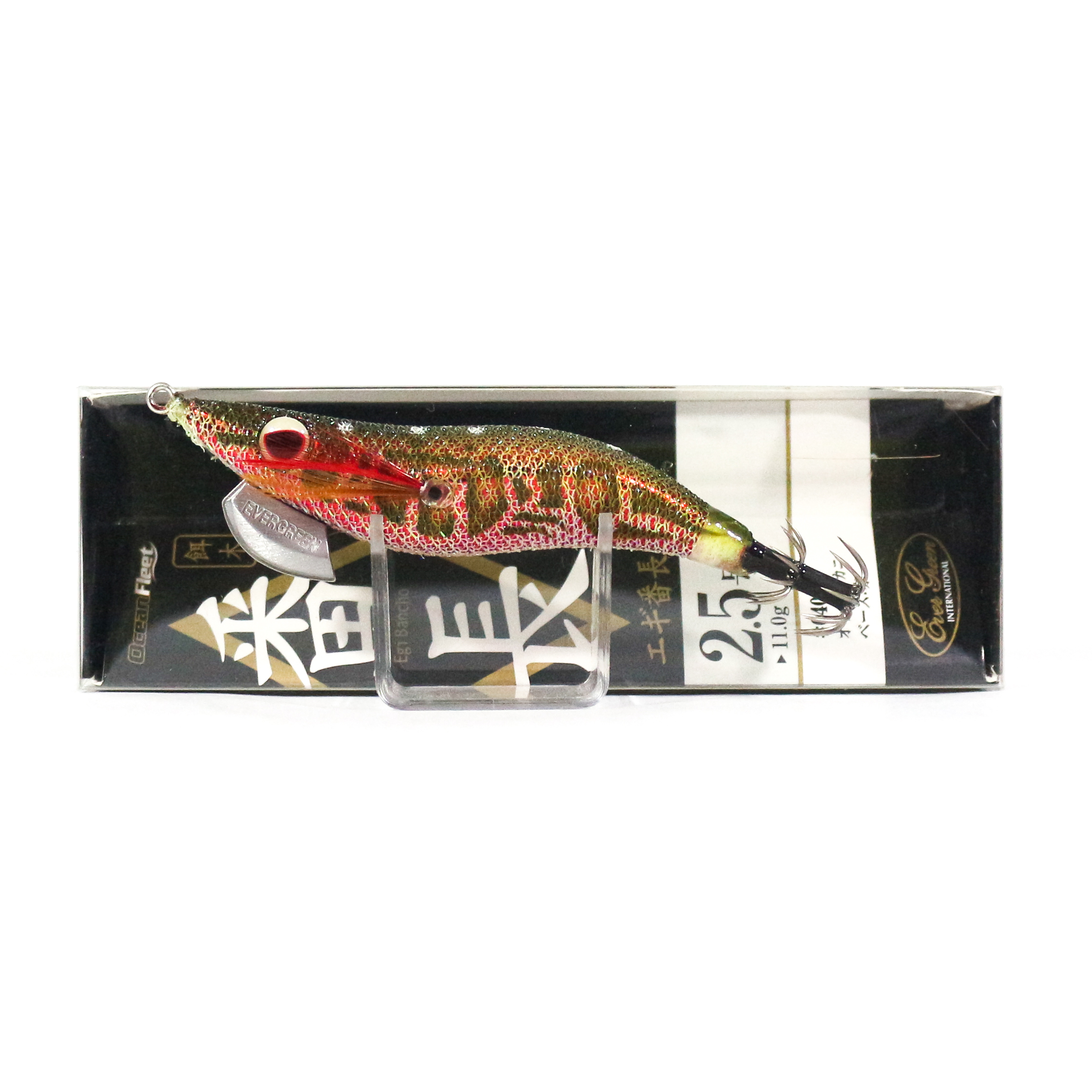 Evergreen Ocean Fleet Custom Squid Jig Lure 2.5 0407R (2613)