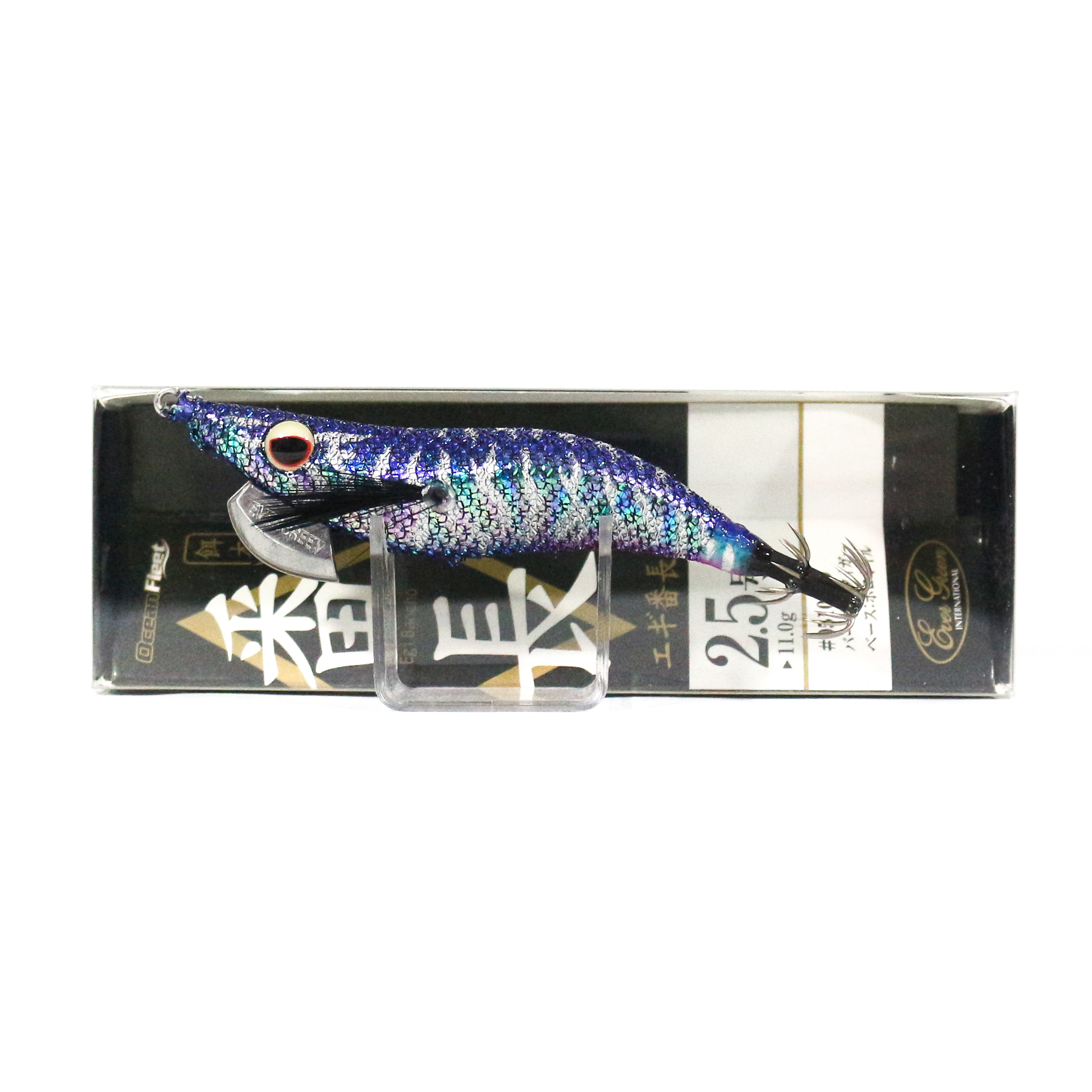 Evergreen Ocean Fleet Custom Squid Jig Lure 2.5 510H0 (2637)