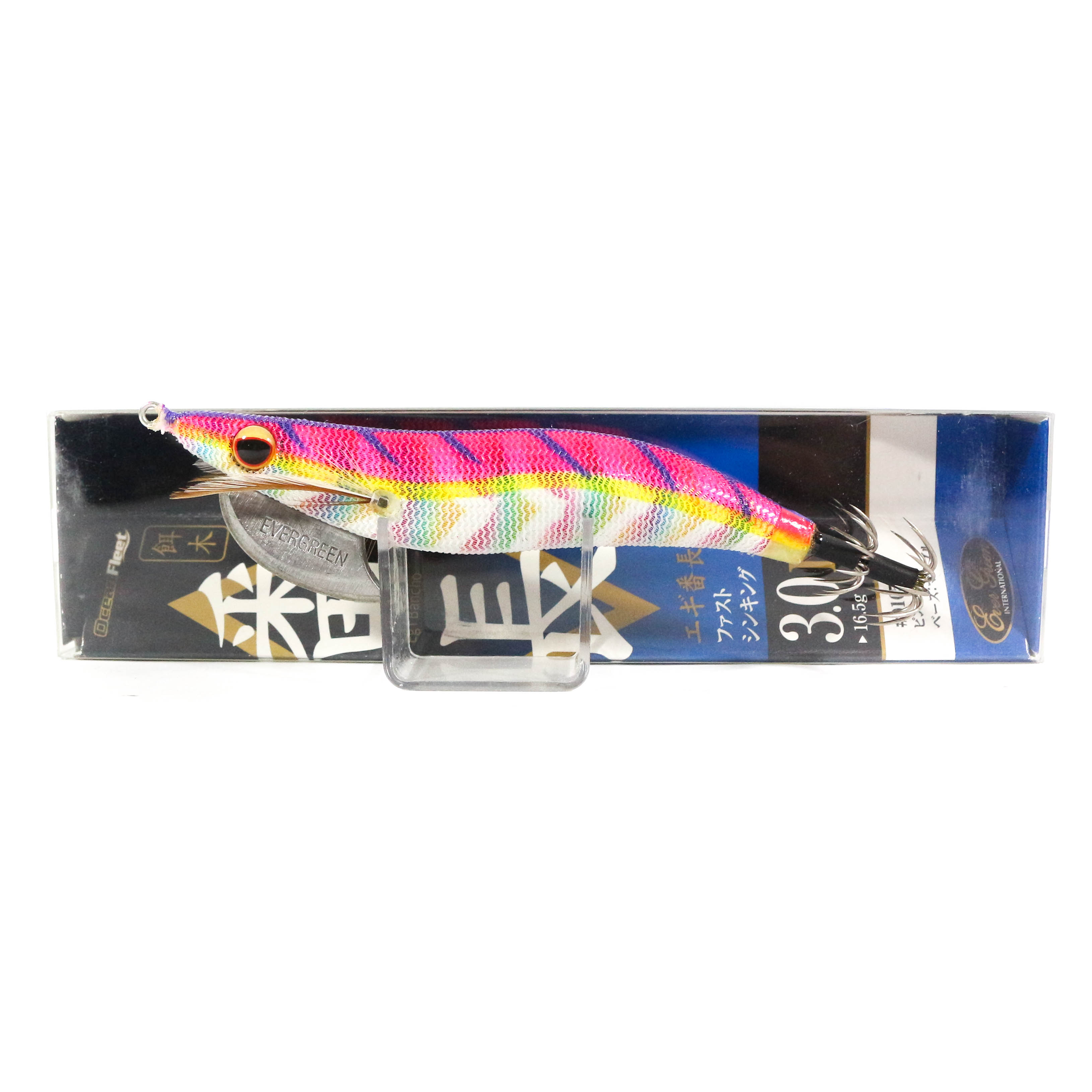 Evergreen Ocean Fleet Custom Squid Jig Lure 3.0D 0105M (3313)