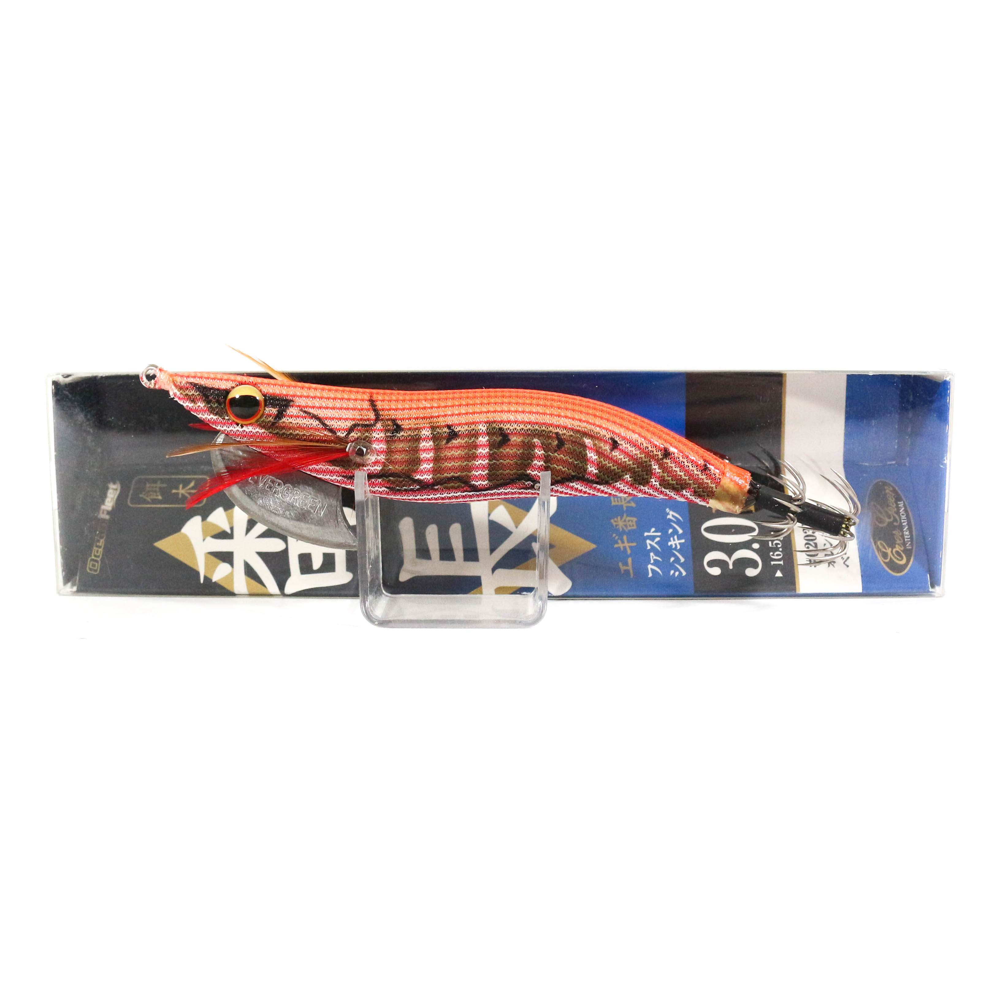 Evergreen Ocean Fleet Custom Squid Jig Lure 3.0D 0203R (3344)