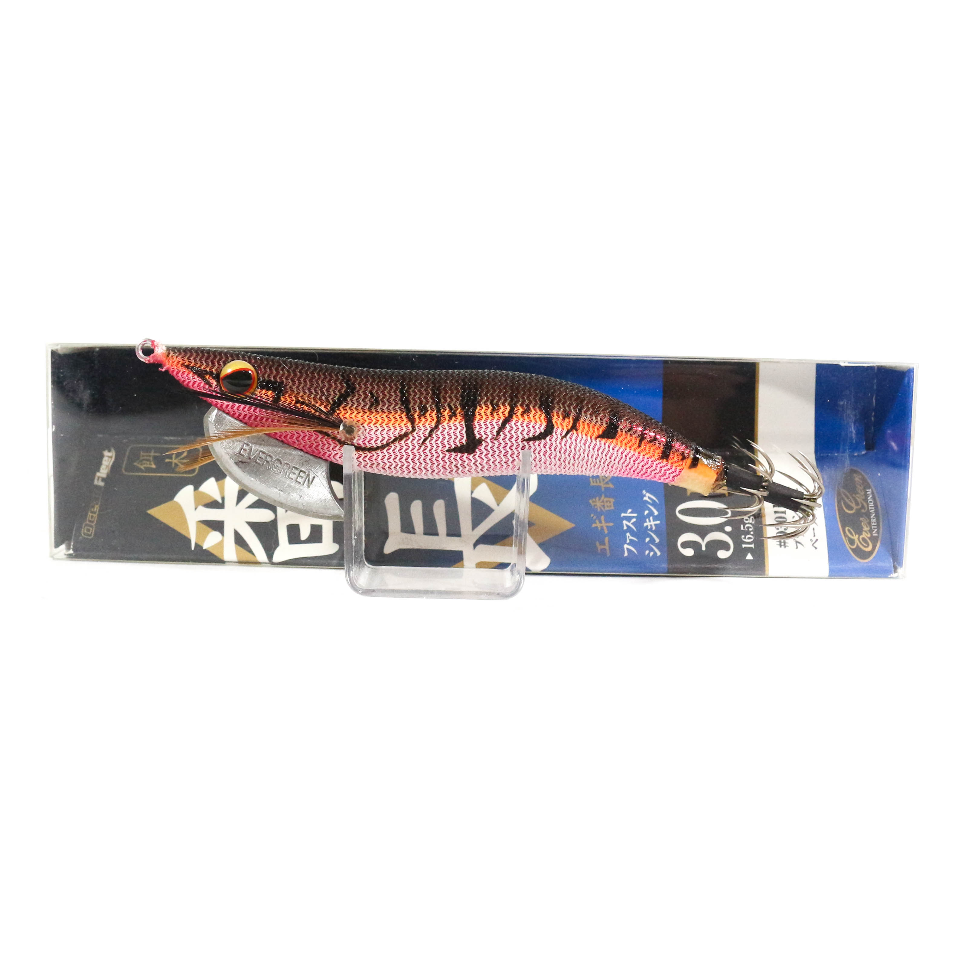 Evergreen Ocean Fleet Custom Squid Jig Lure 3.0D 0301R (3382)